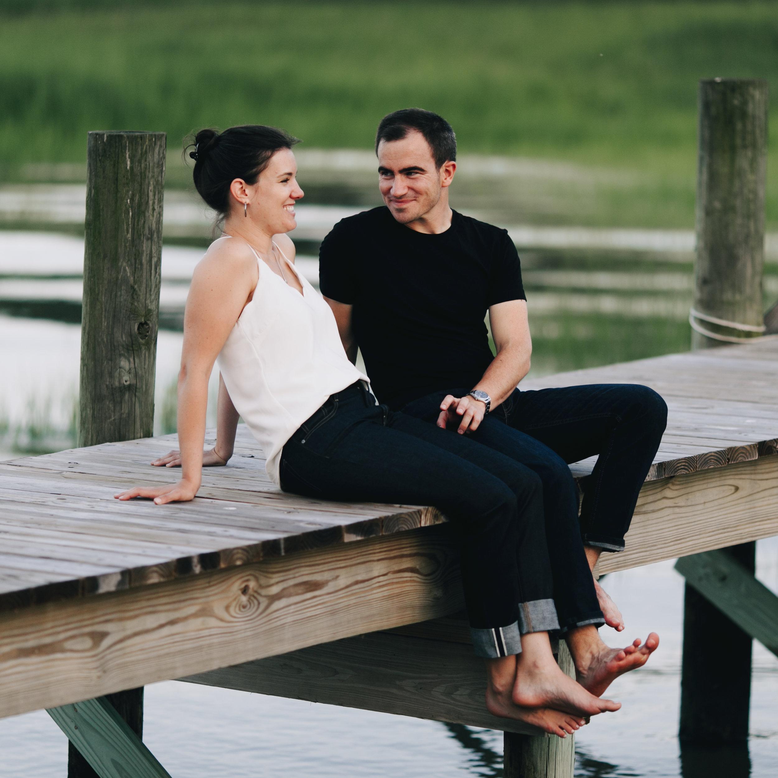 Photography Anthology - Charleston MArsh Engagement Sesison On Dock (33 of 47).jpg