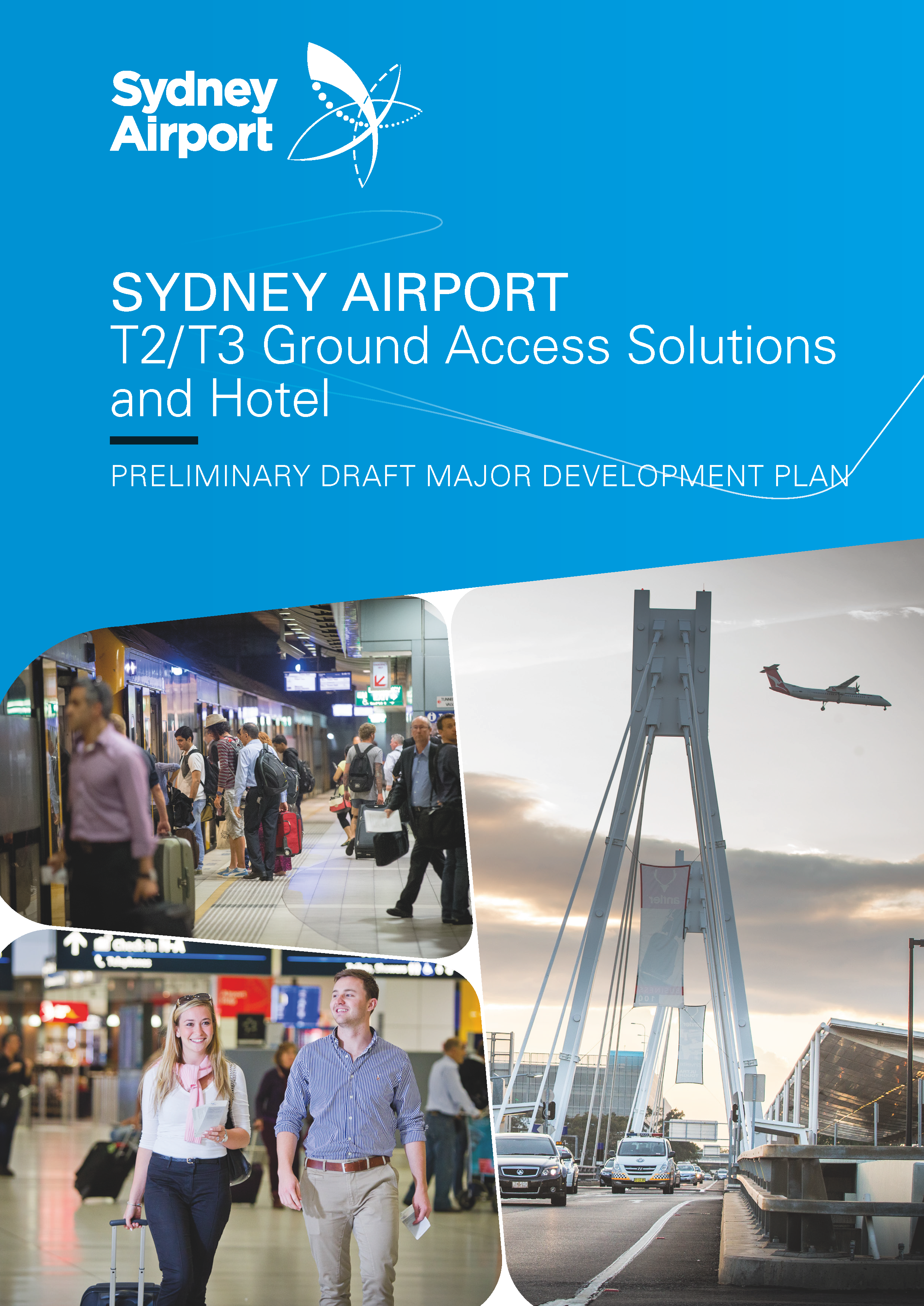"""Sydney Airport regularly uses KYSO to design and layout its corporate documents, most recently the Airport Master Plan 2033 and Airport Environment Strategy 2018. We've always been more than pleased with the high quality of the work delivered, and the personal service we receive.""    Ted Plummer / Manager Major Projects Consultation and Communications / Sydney Airport Corporation Limited"