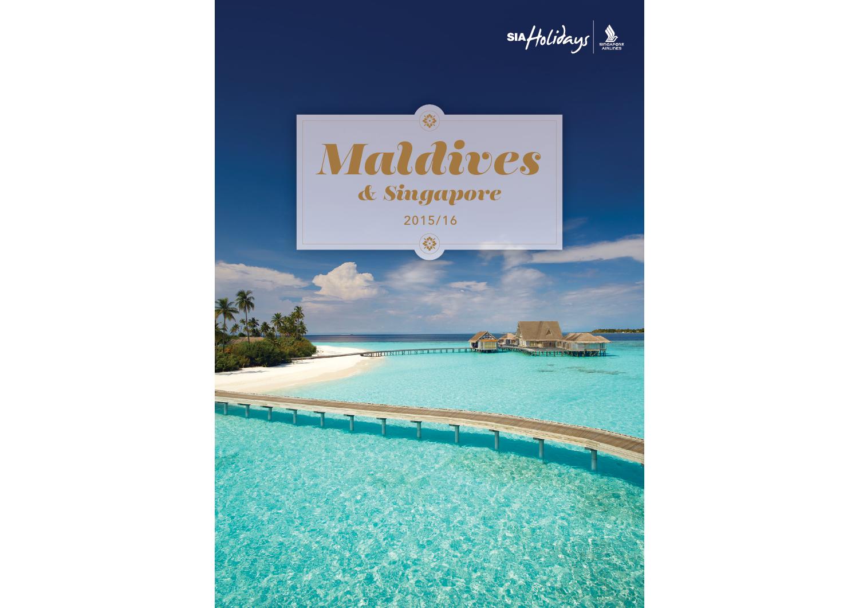 Maldives Brochure Cover
