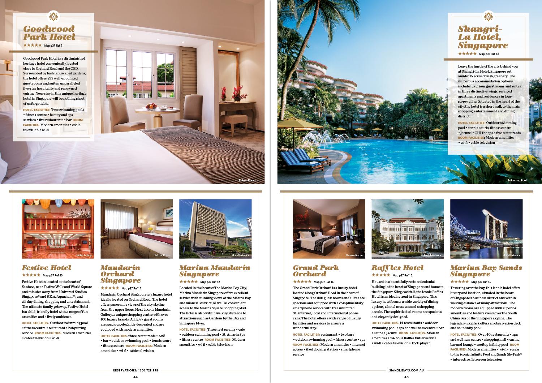 Maldives Brochure Spread