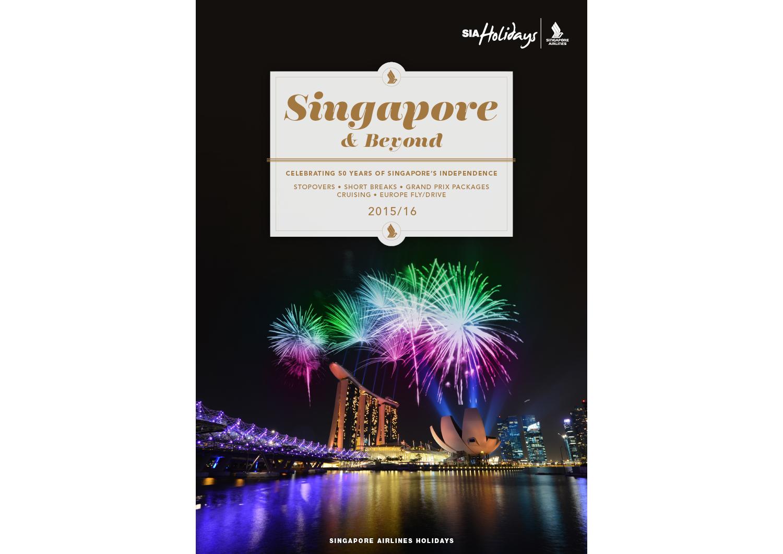 Singapore & Beyond: brochure cover