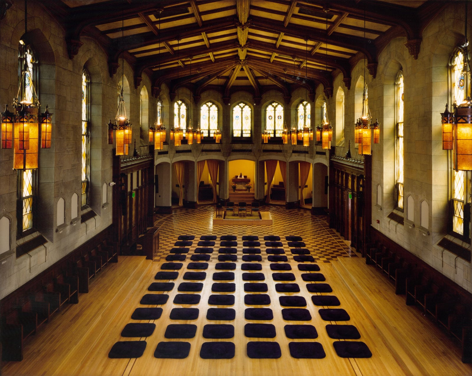 A view of the Meditation Hall at the Garrison Institute. The Westchester Buddhist Center will hold a retreat here on Jan. 29.      Learn more