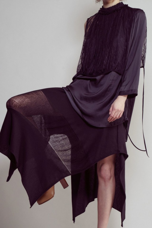 Raquel Allegra Fall 2015 via TresChicNow.com