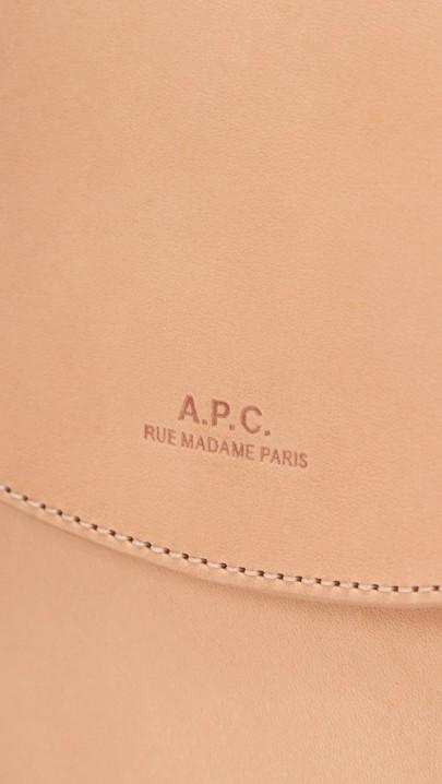 A.P.C. | Sac Luxembourg Bag via TresChicNow.com #treschicmedia