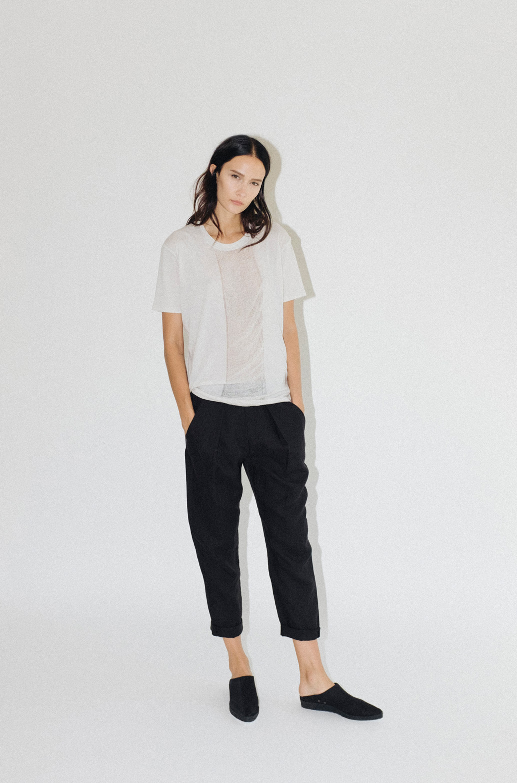 Raquel Allegra Basics via The Dreslyn