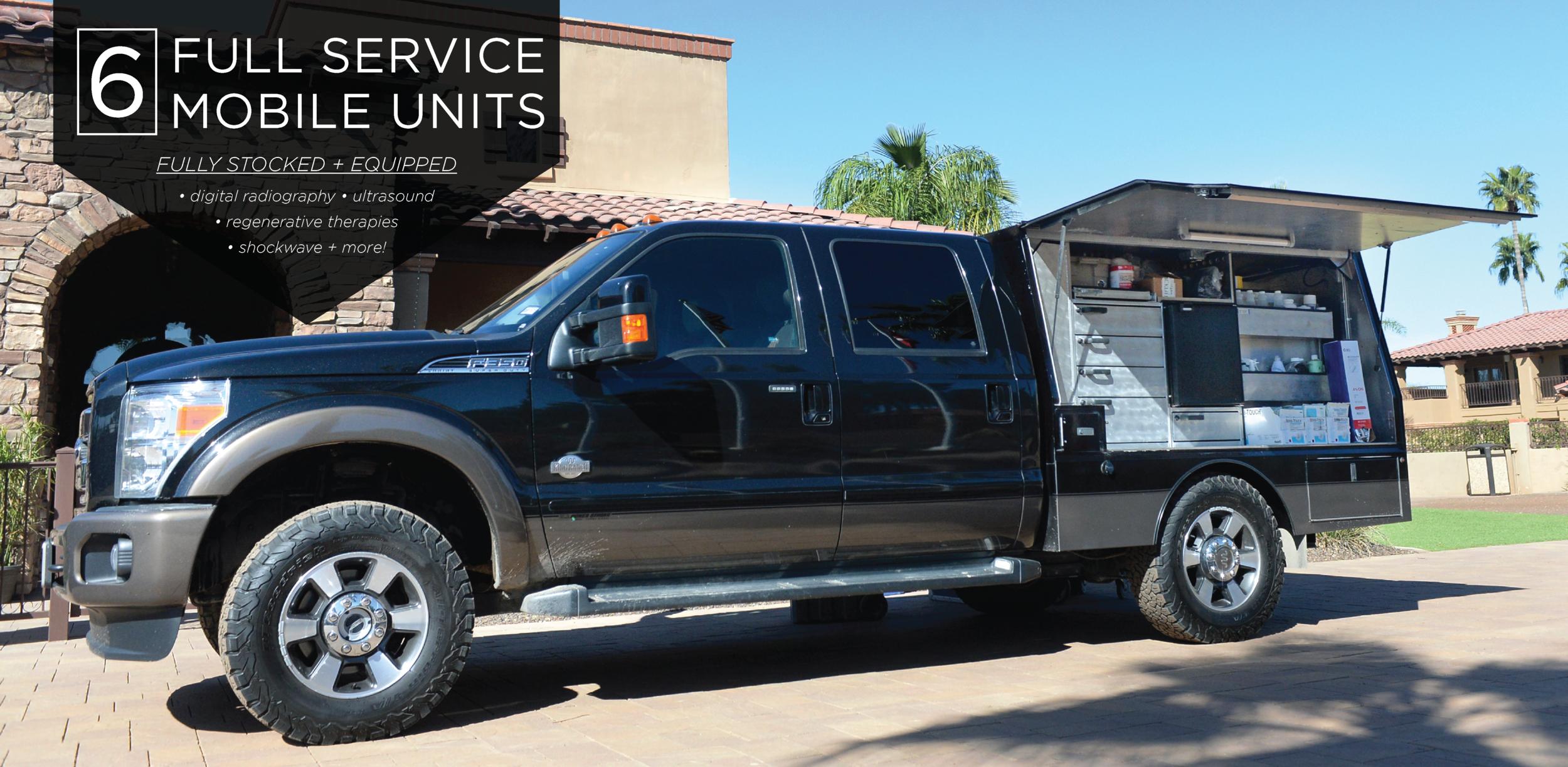 Full Service Mobile Veterinary Trucks