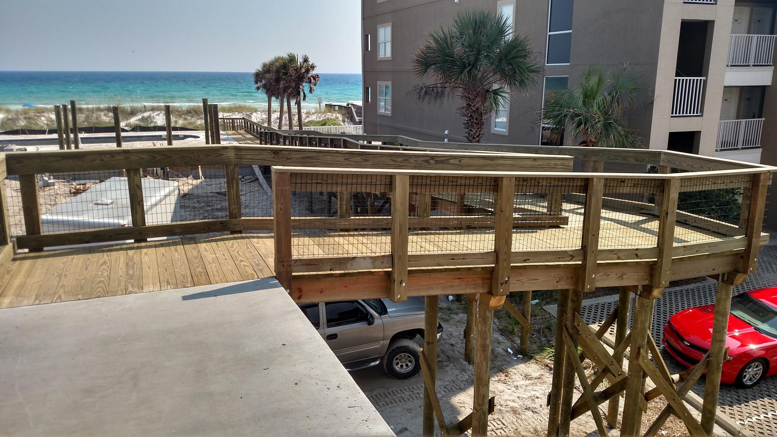 Beach Access with Handrail