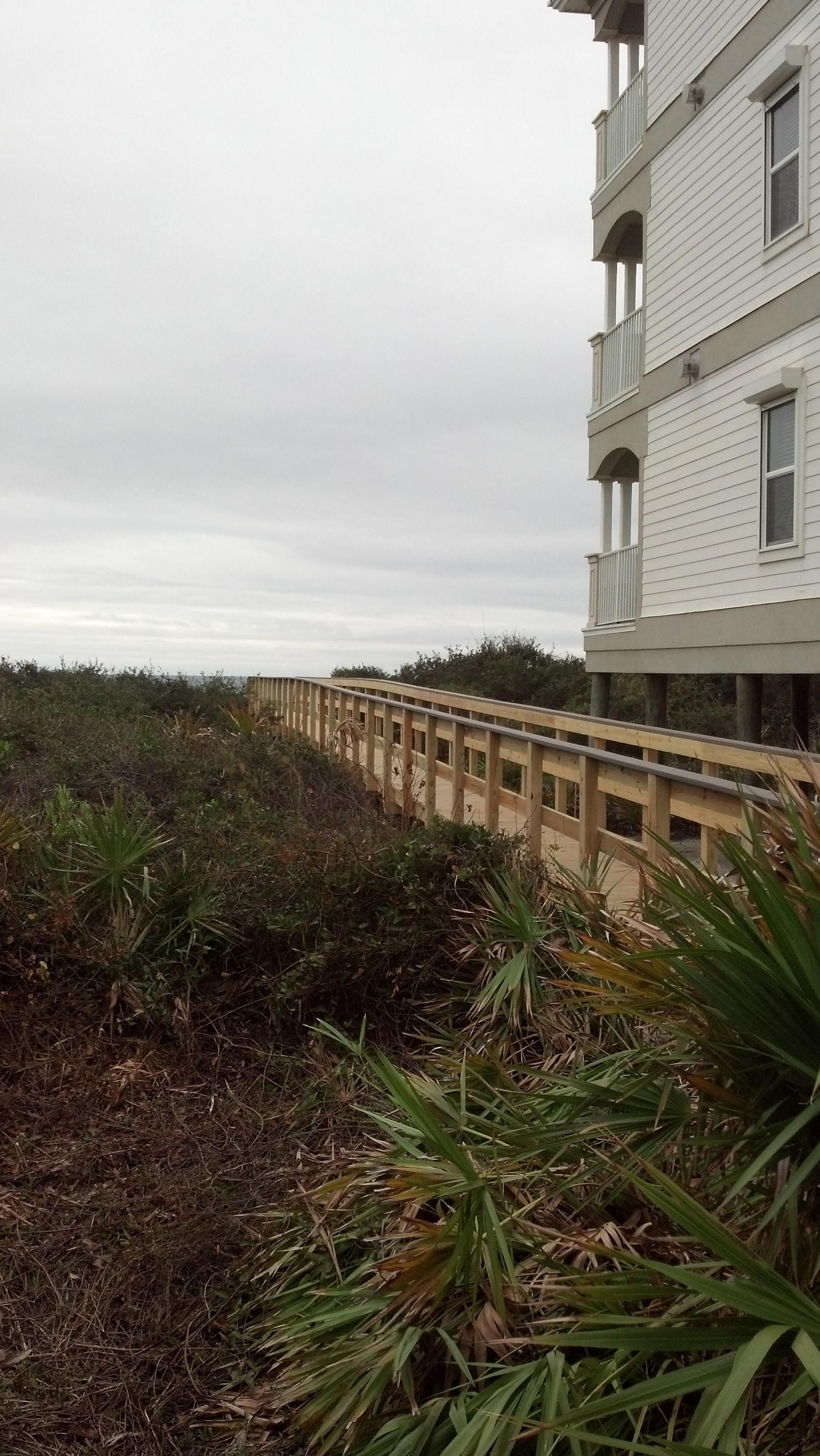 Private Boardwalk Beach Access
