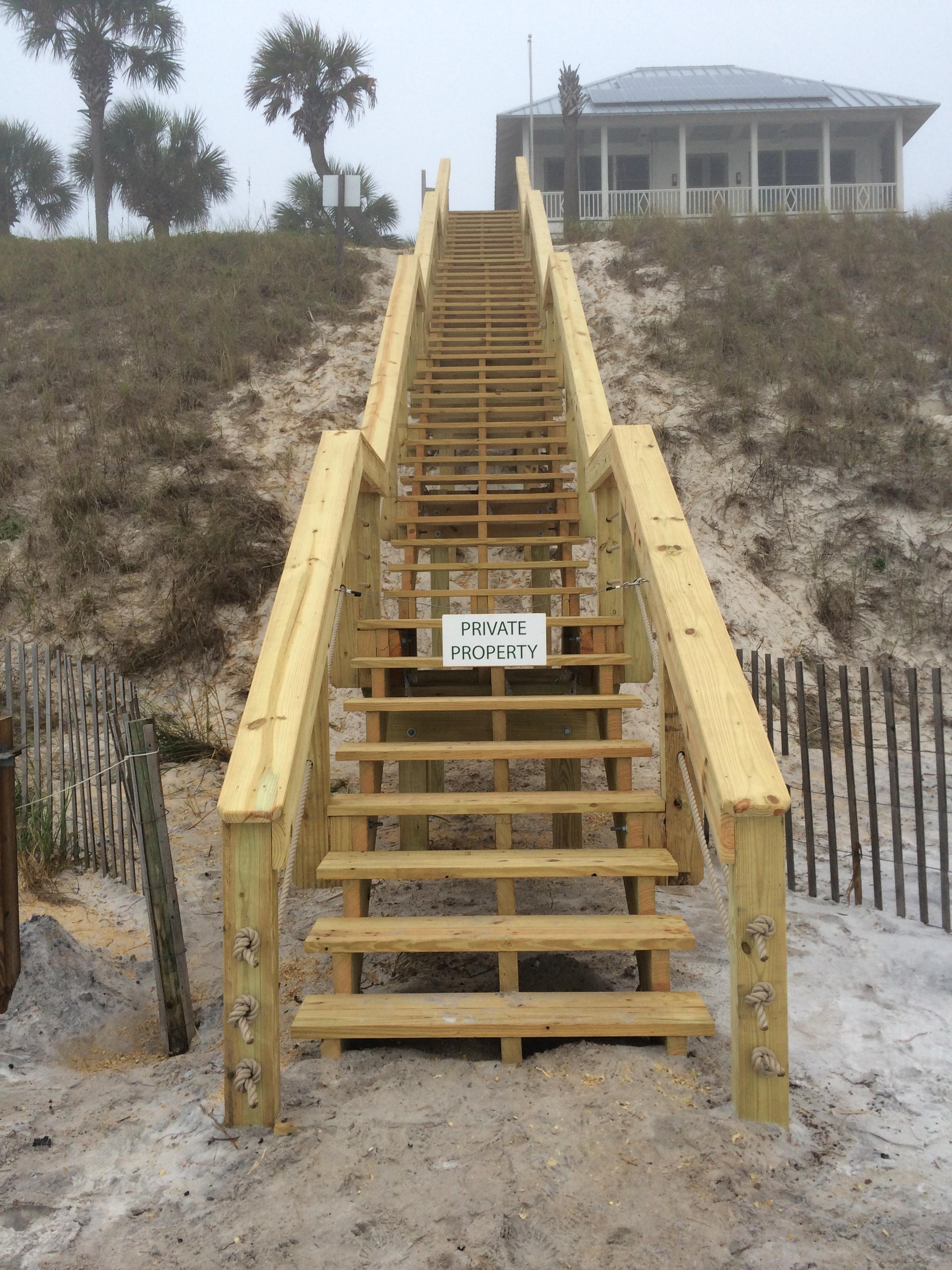 Dune Crossing Stairs