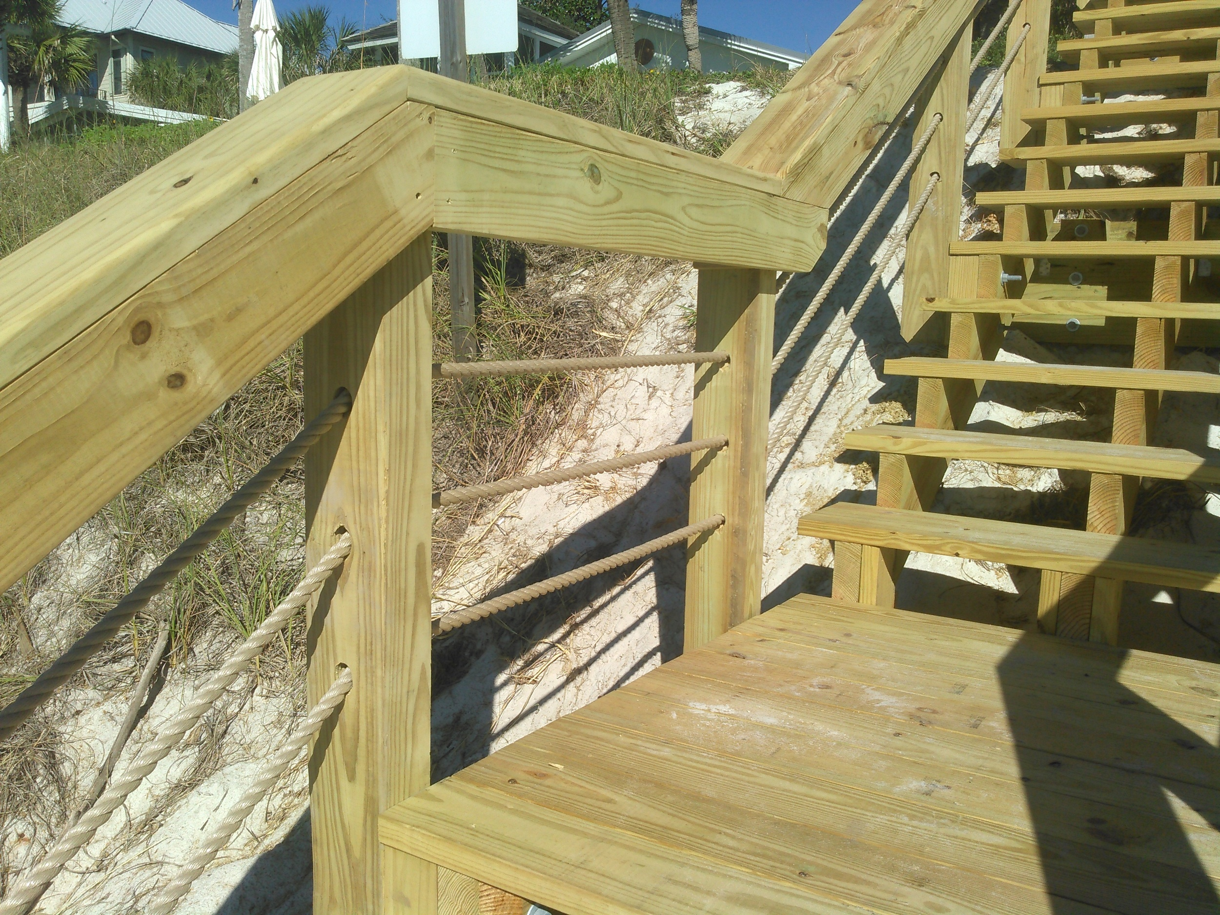 Dune Crossing with Handrail