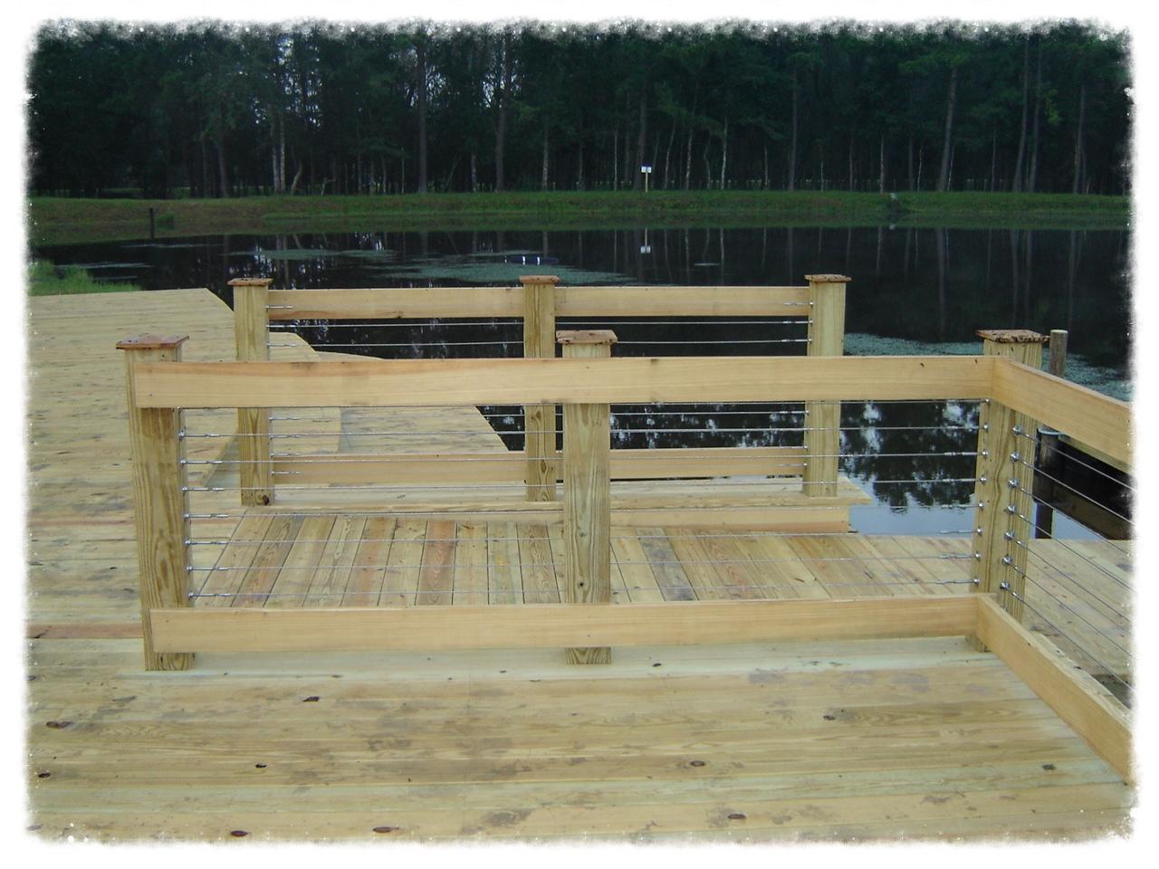Wood Fishing Pier