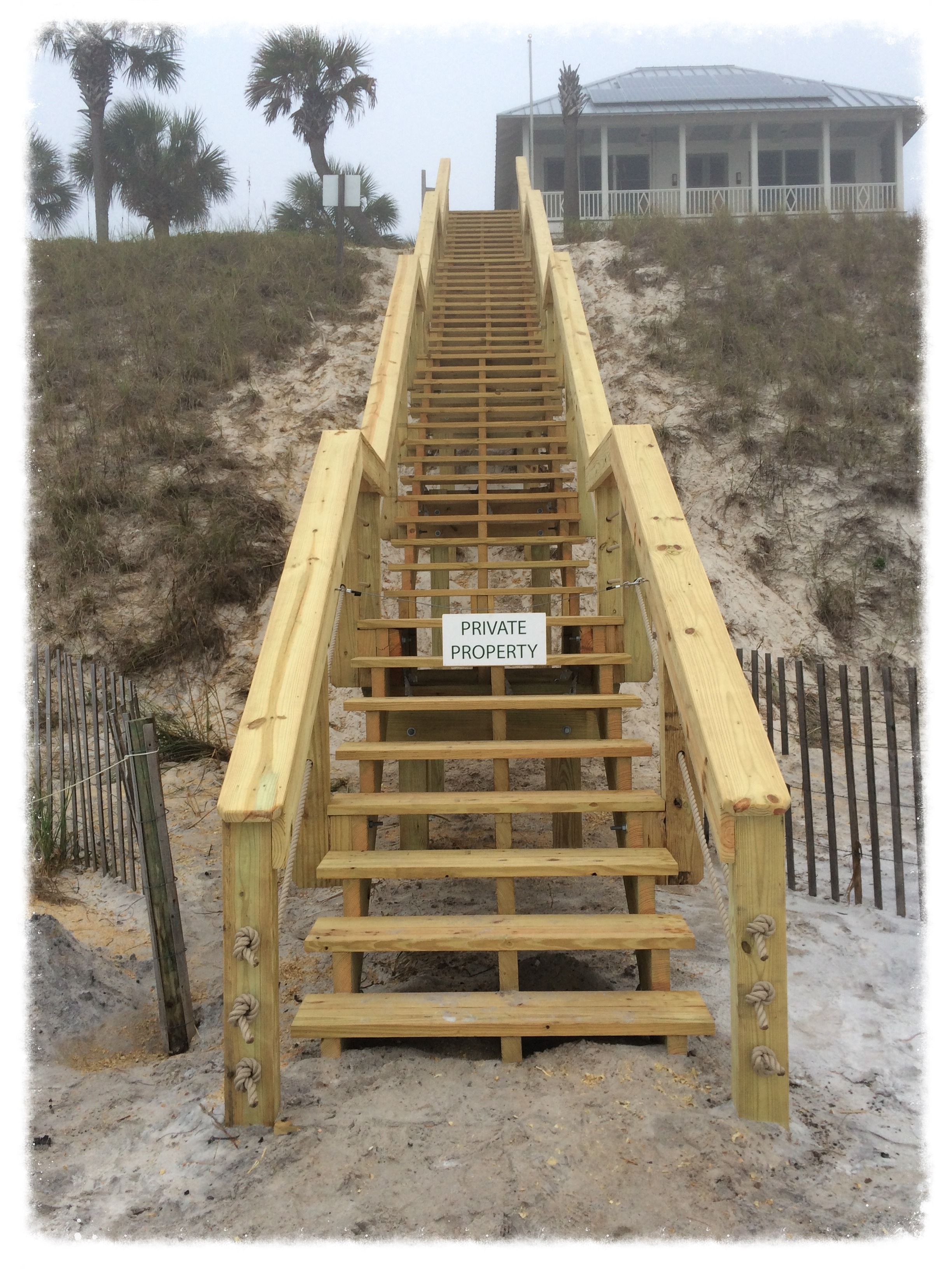 Dune Crossing Stairs