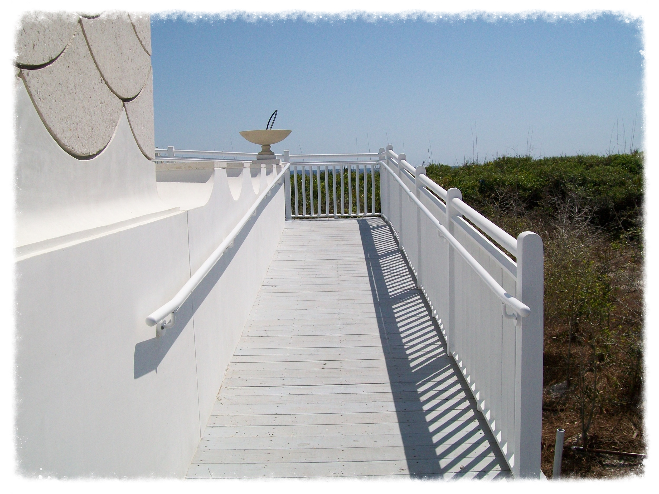 Boardwalk Ramp