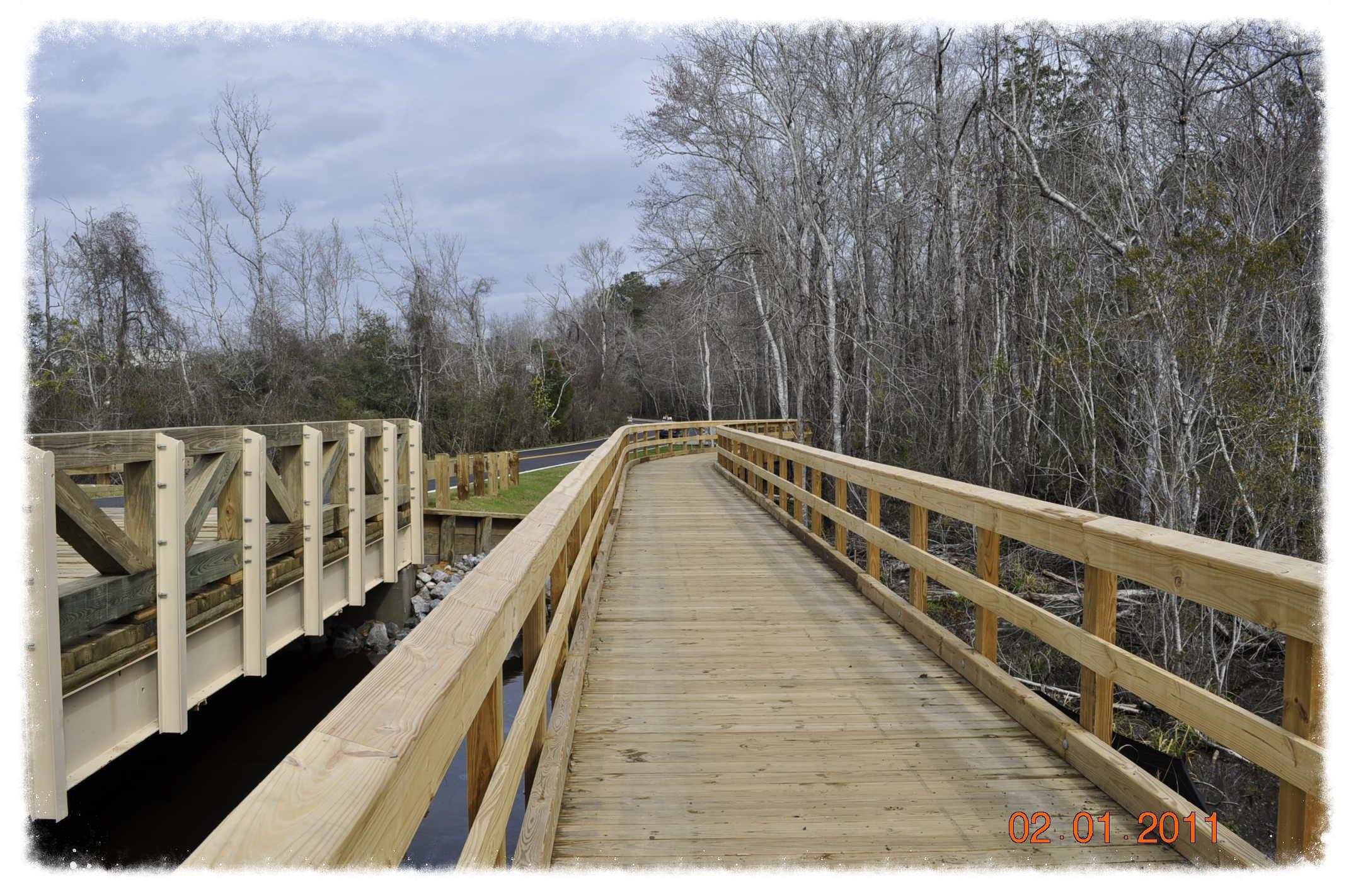 Timber Boardwalk