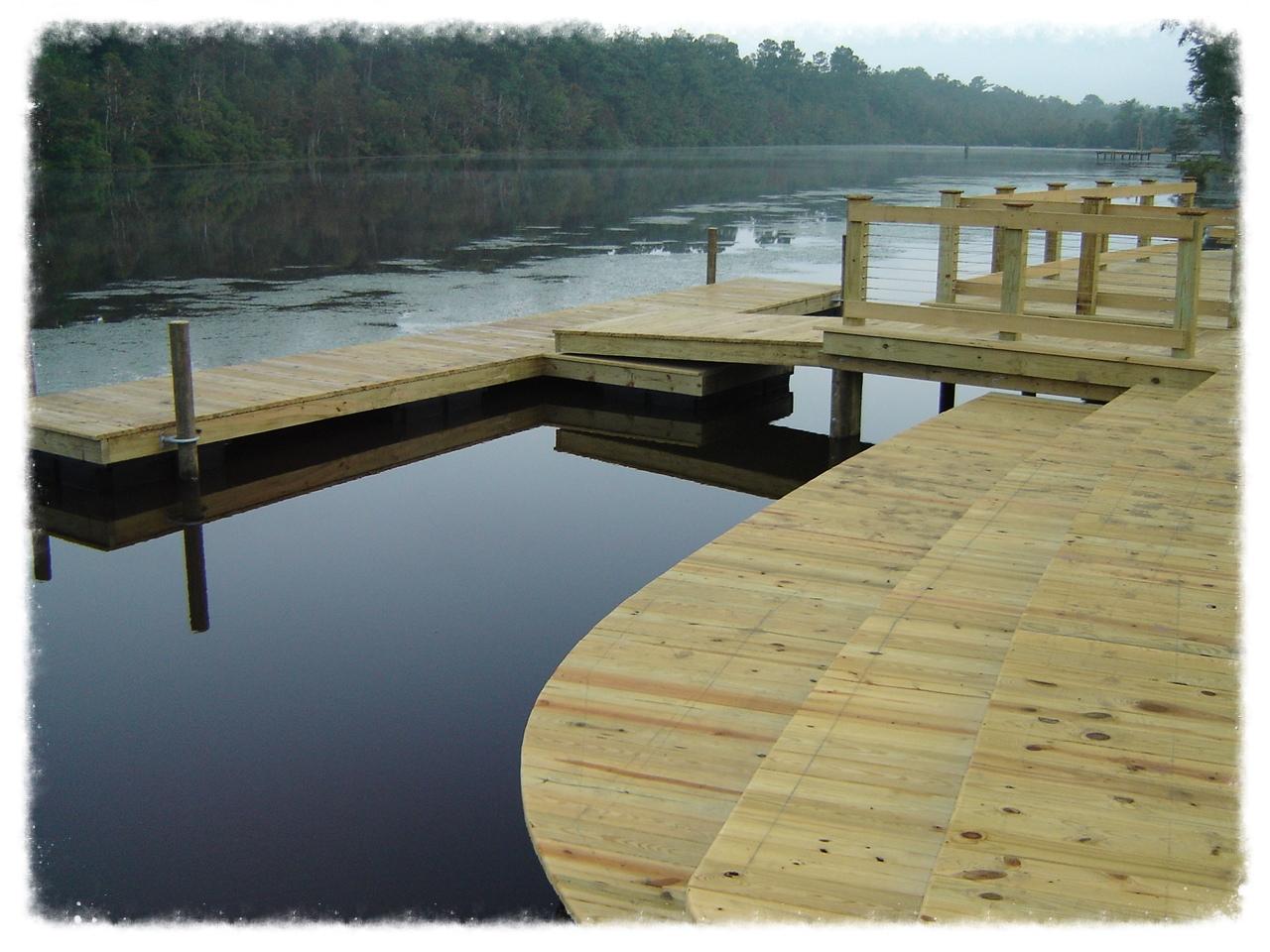 Boardwalk with Floating Dock