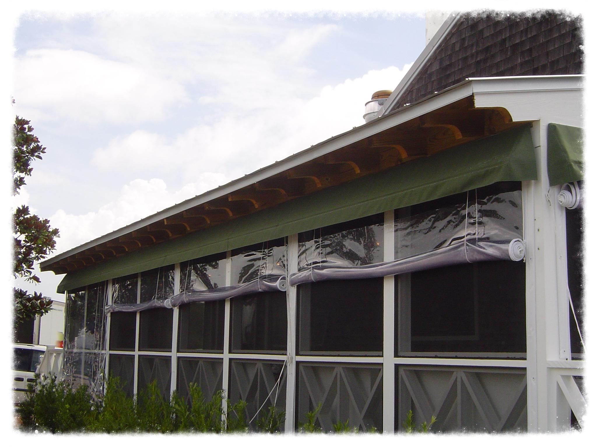 Commercial Enclosed Deck