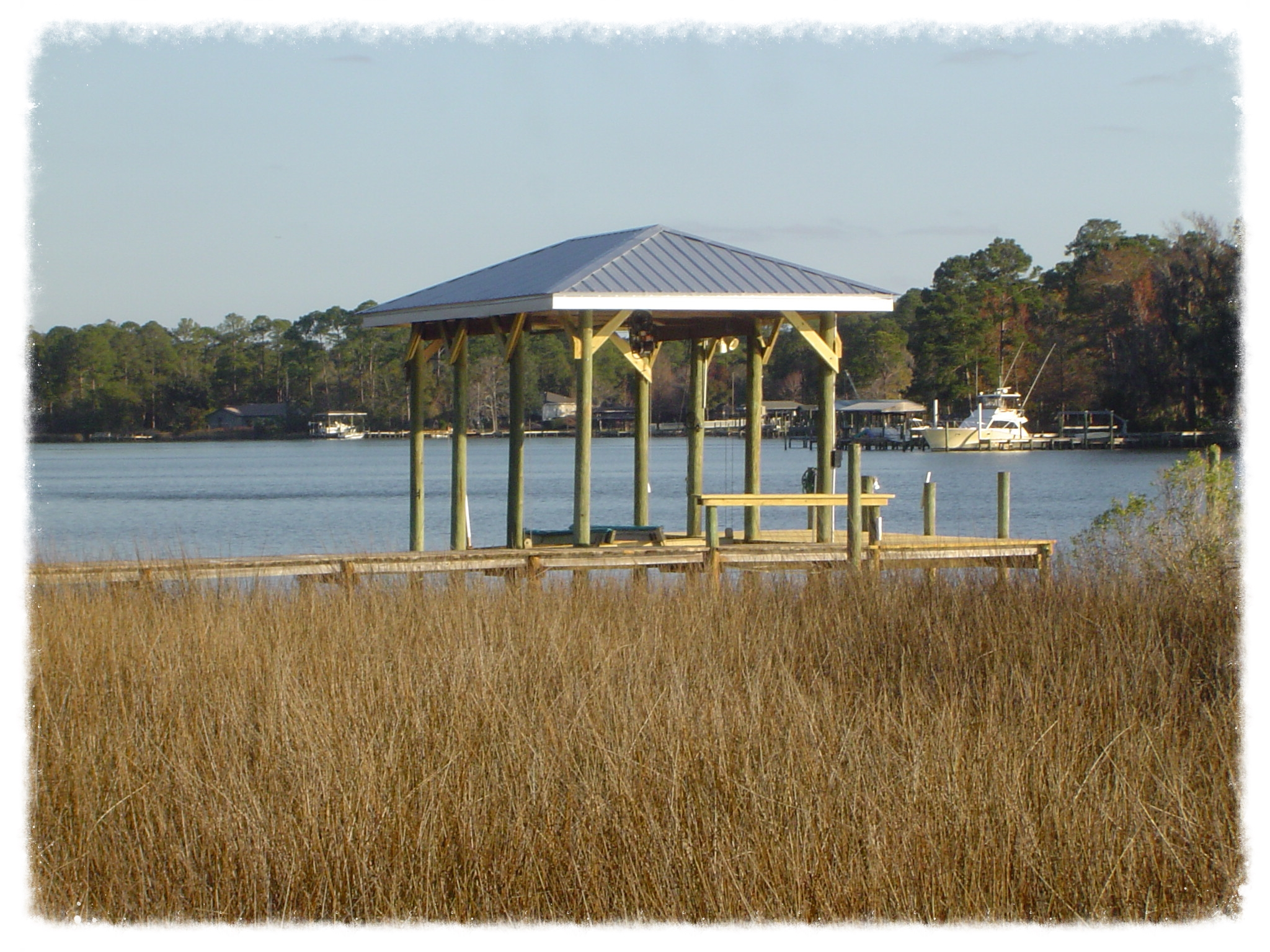 Residential Dock and Boathouse