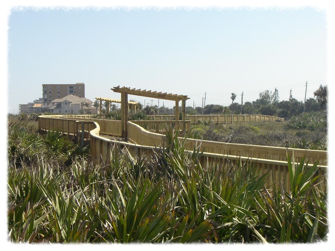 Winding Boardwalk