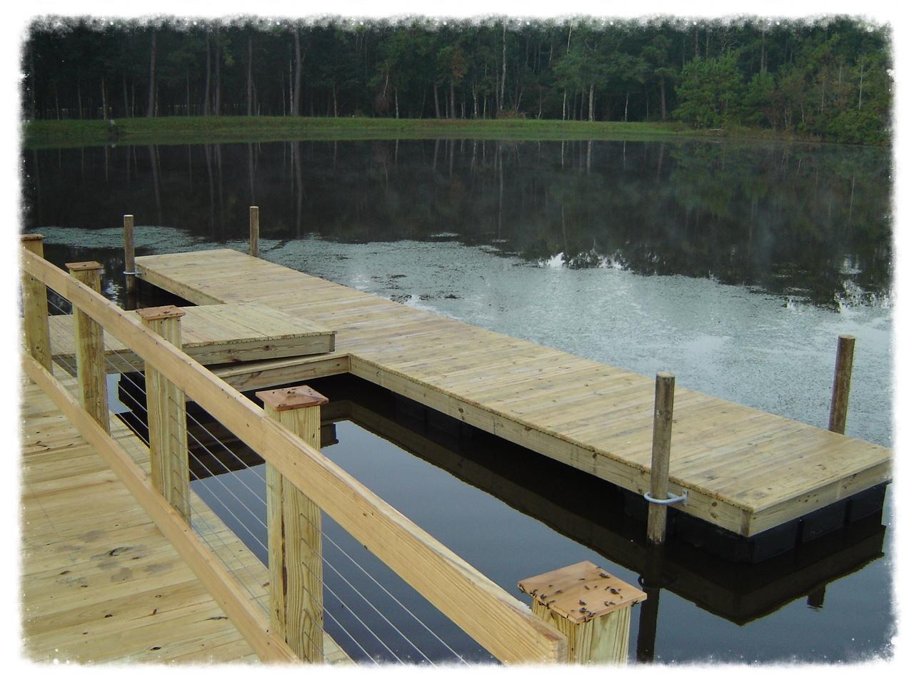 Floating T Dock