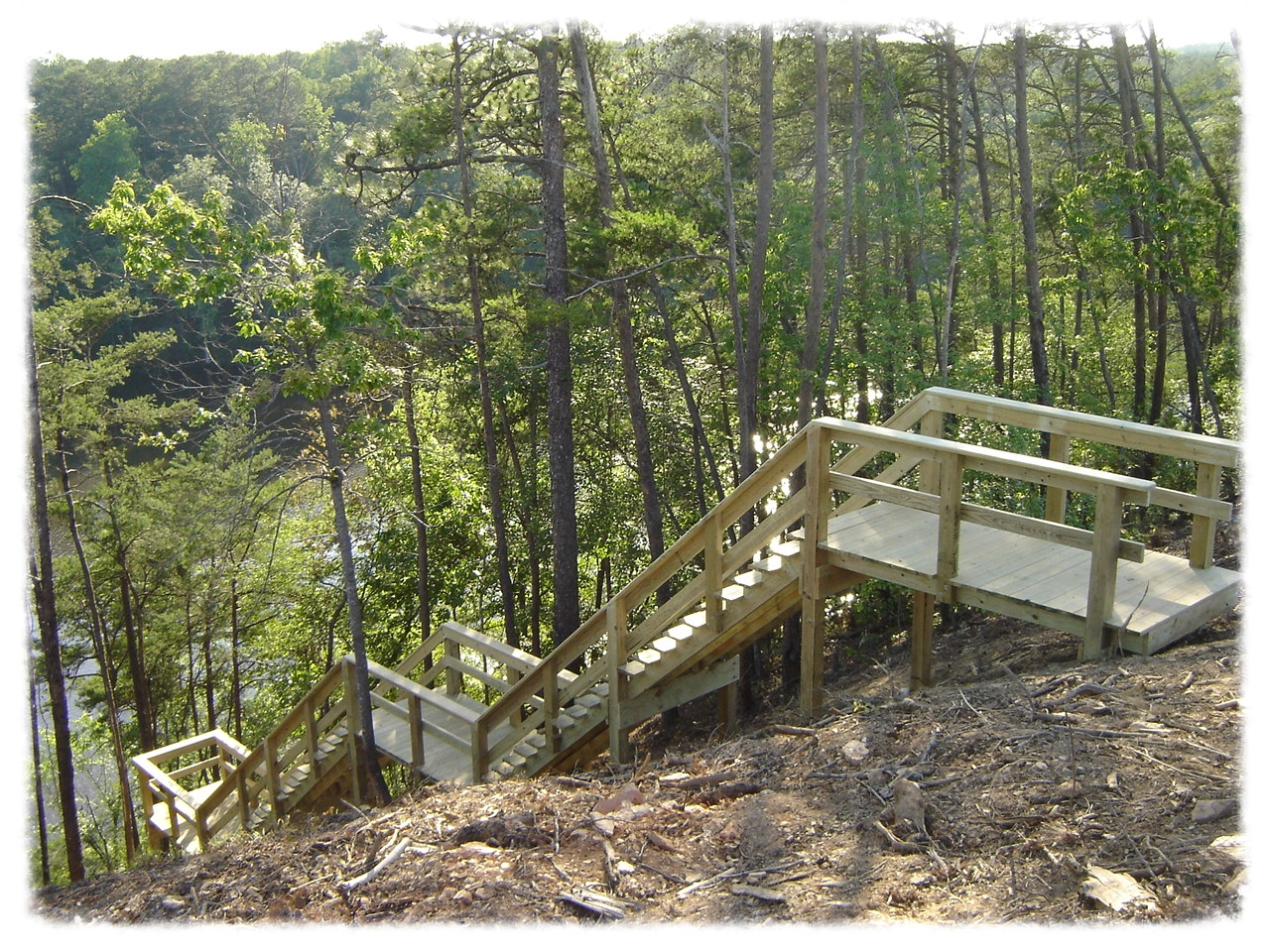 Lake Access Stairway