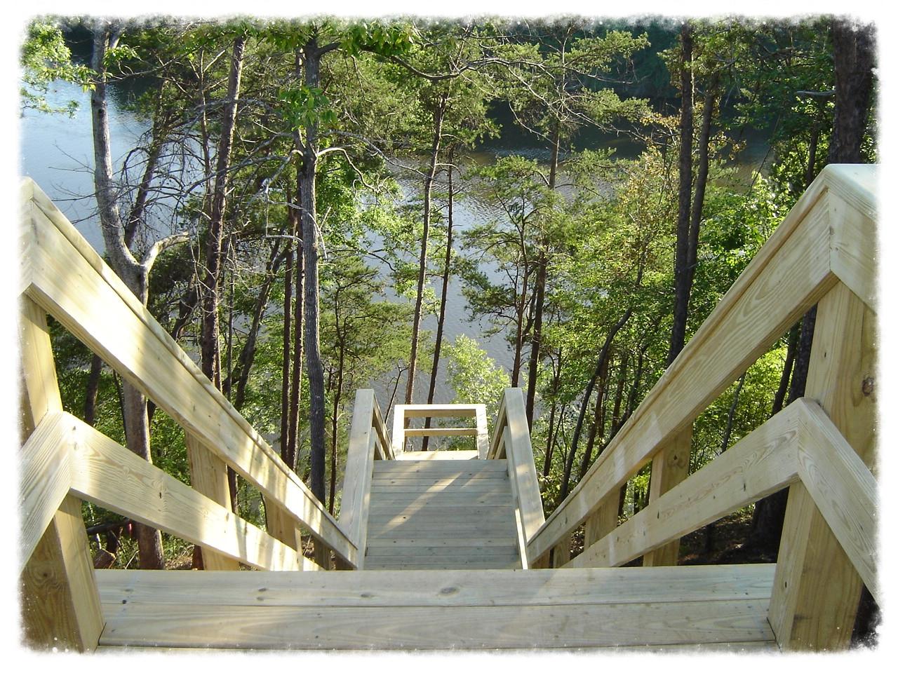 Lake Access Handrail