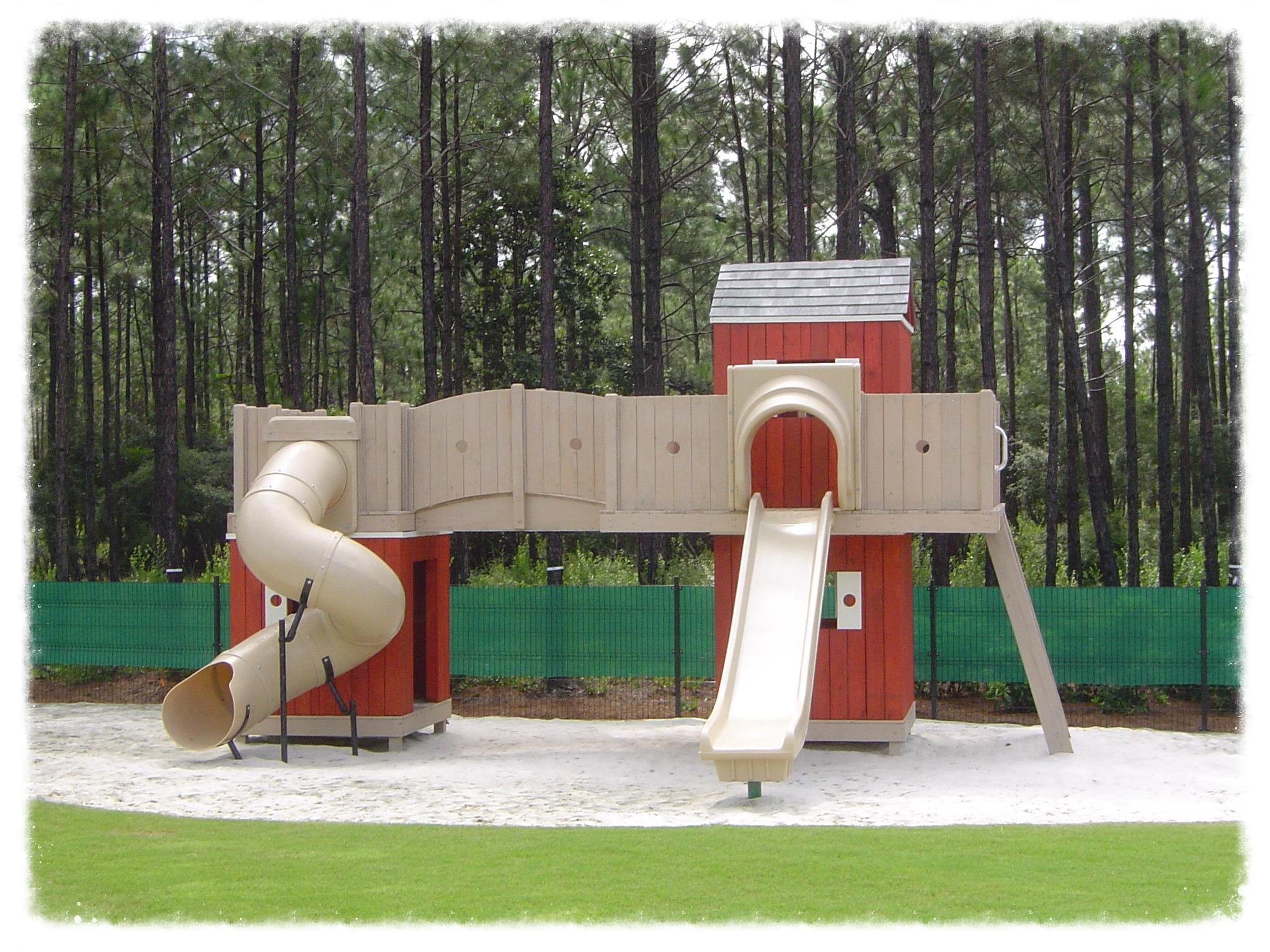 Custom playground design