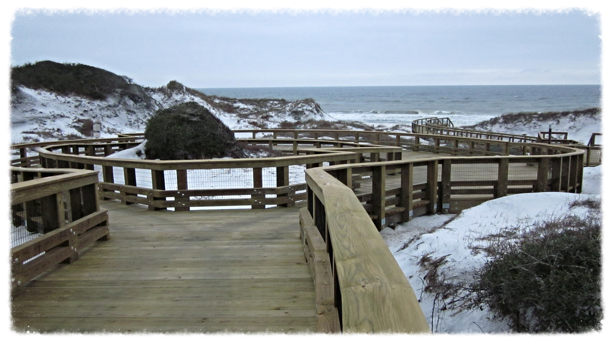 Boardwalk at the beach