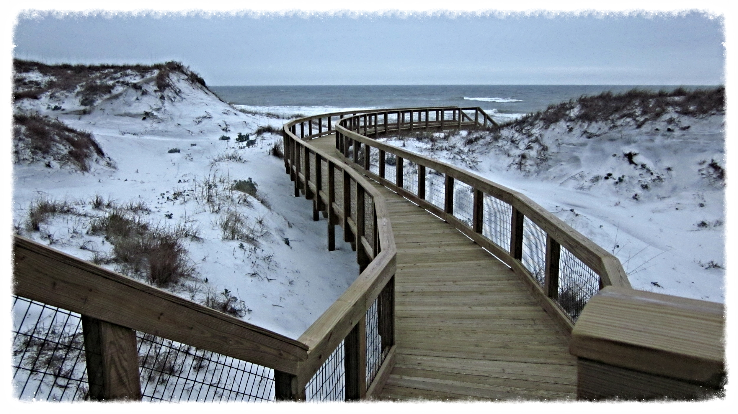 Dune Crossing Beach Boardwalk