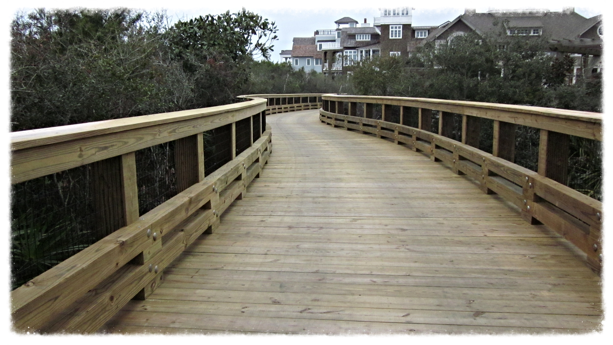 Timber Boardwalk Top Down Construction