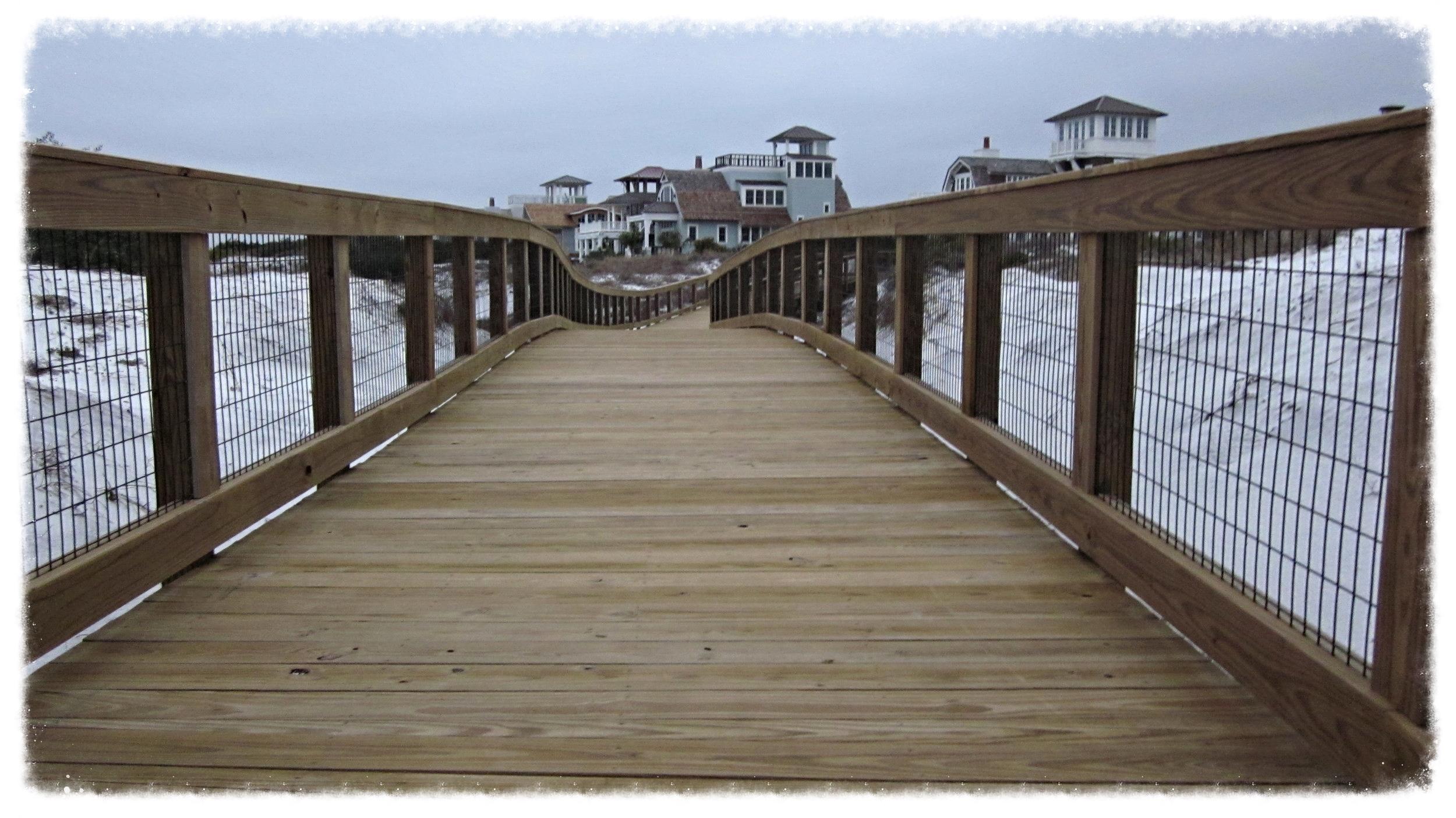 Timber Boardwalk Wooden Boardwalk