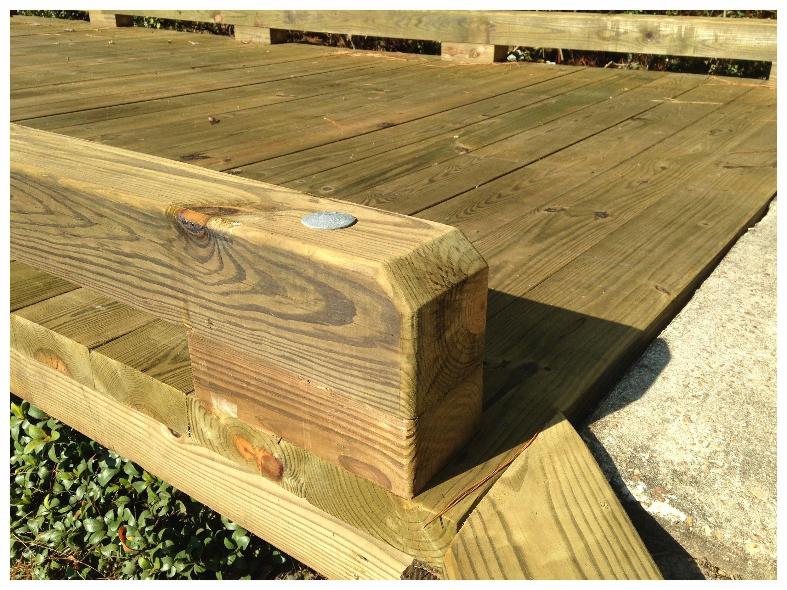 Wooden Foot Bridge Design