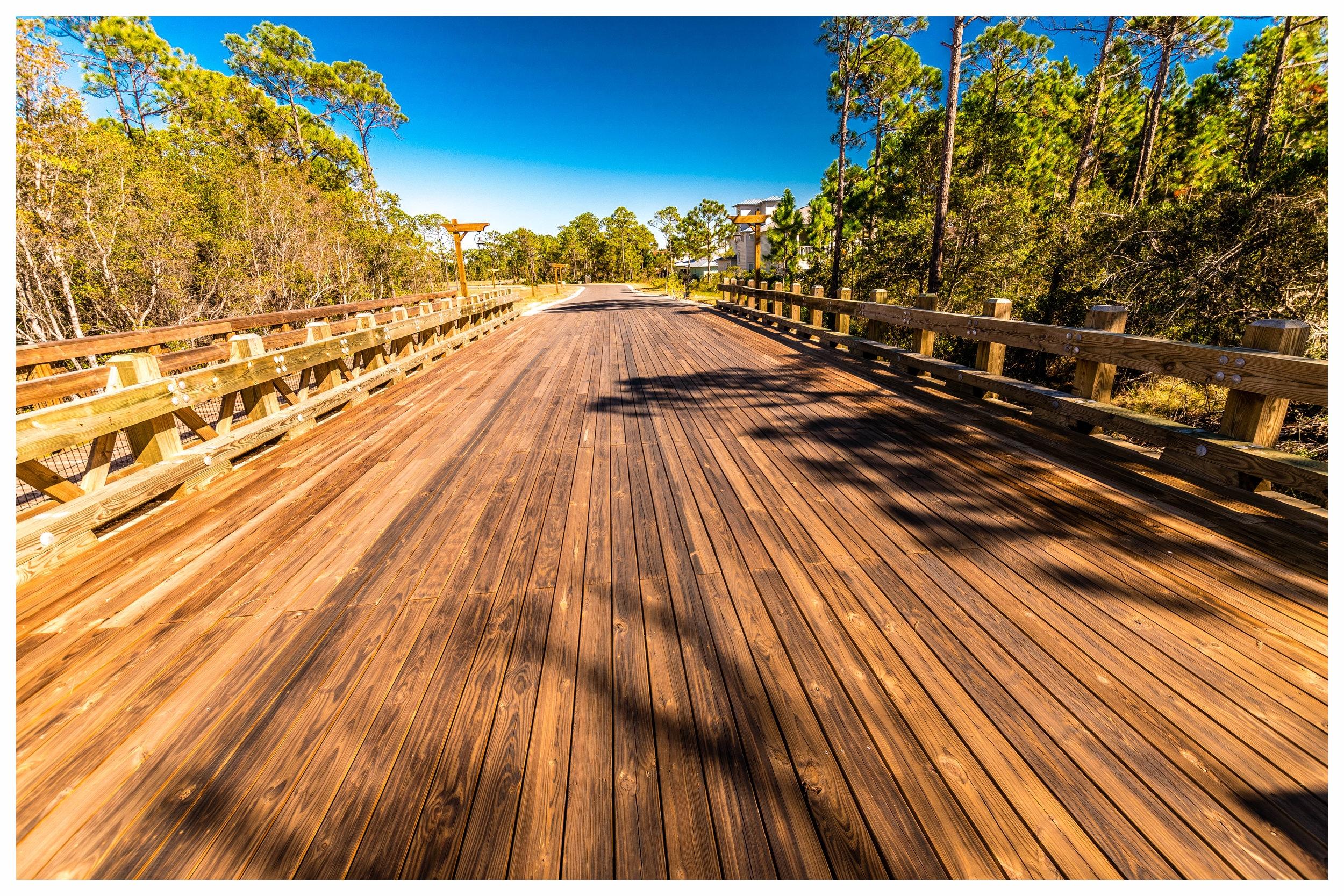 Heavy Timber Vehicular Bridge