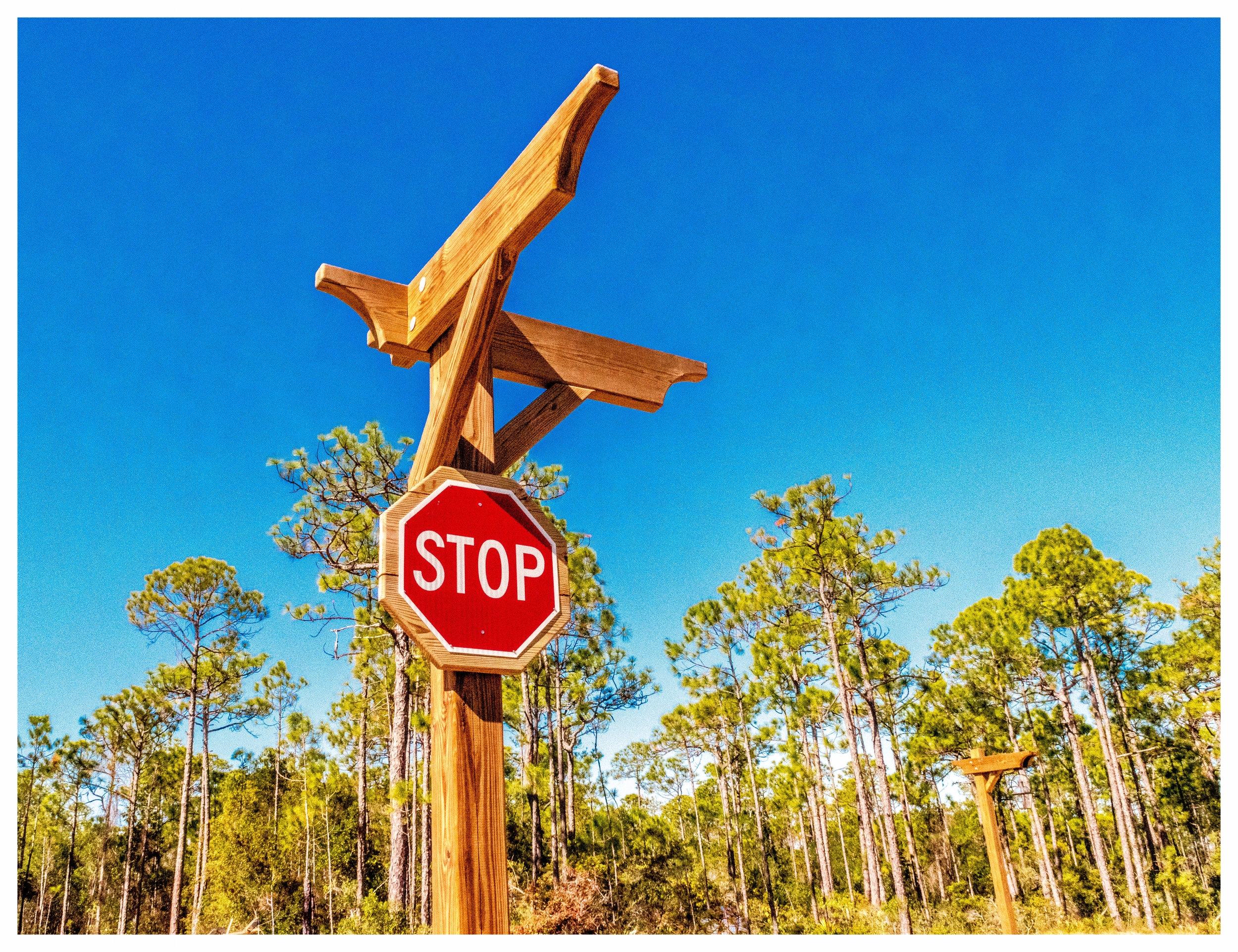 Custom Timber Sign