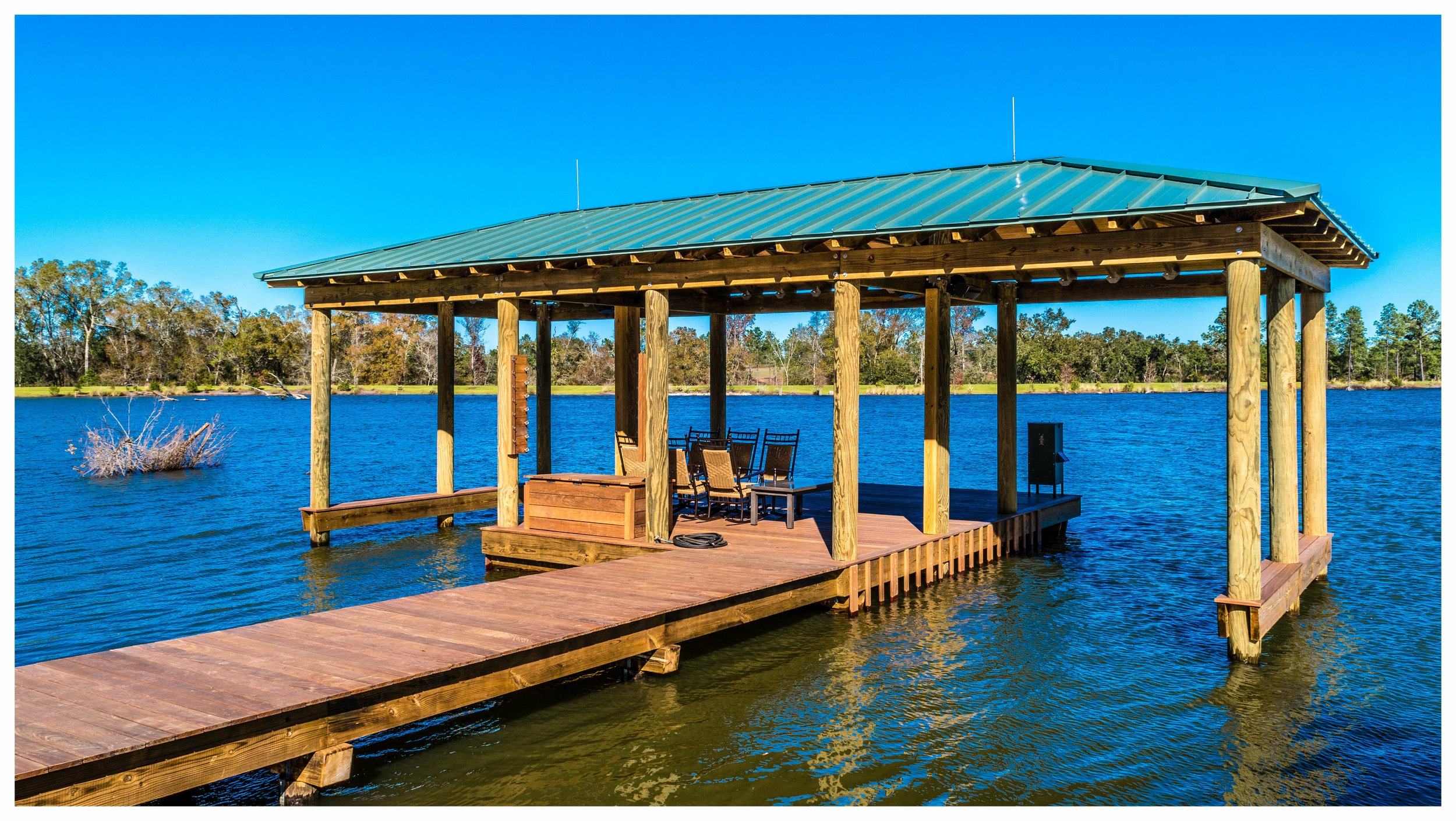 Fishing Pier Boat House