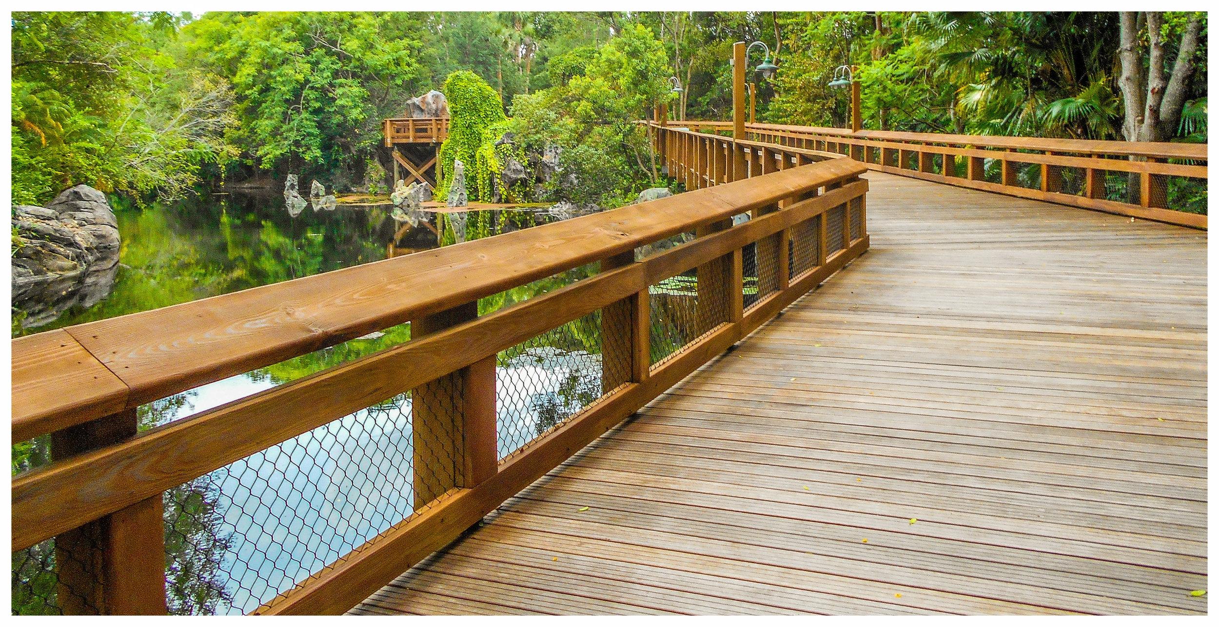 Wetlands Boardwalk Construction