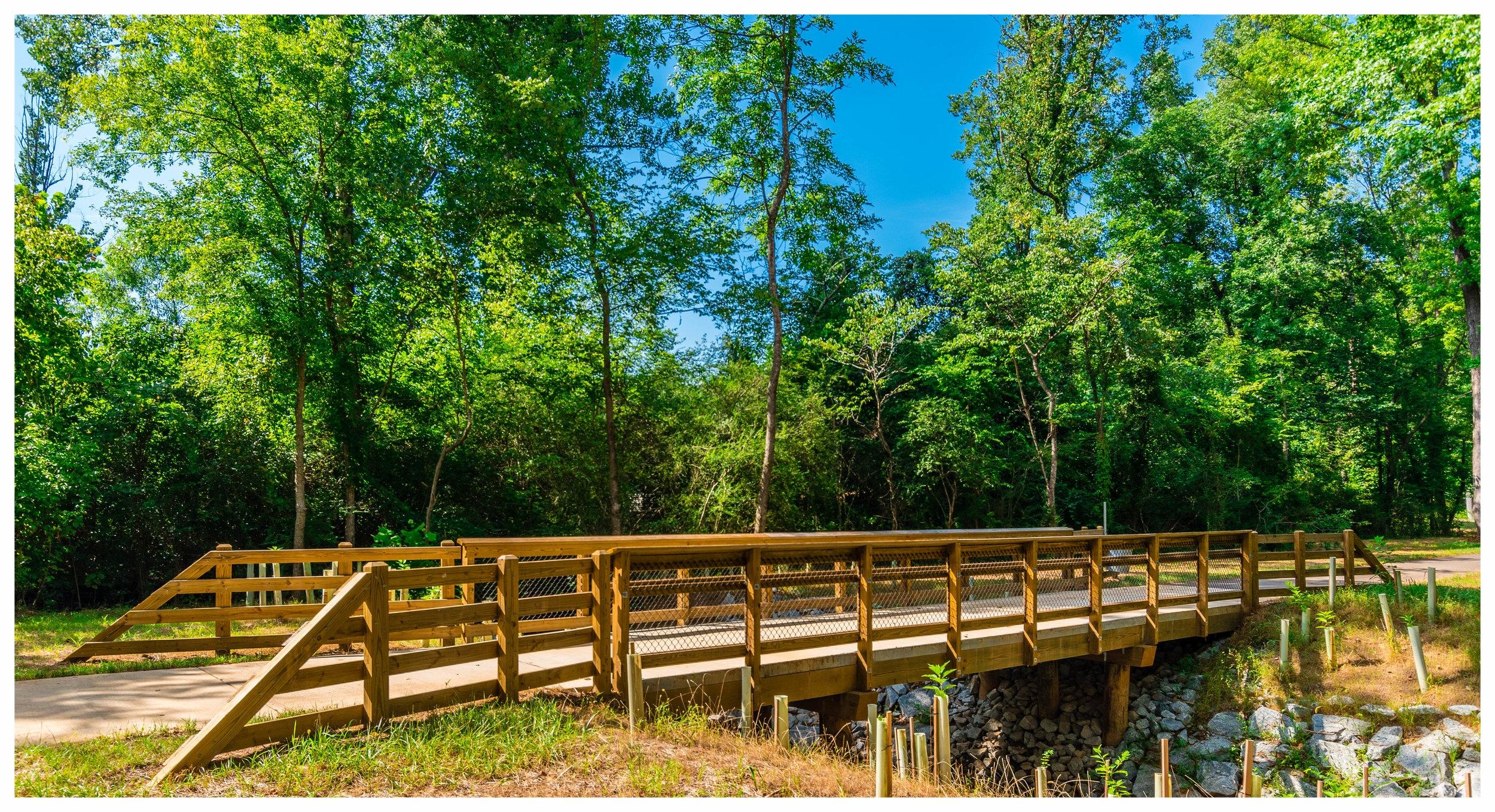 Wooden Bridge Construction