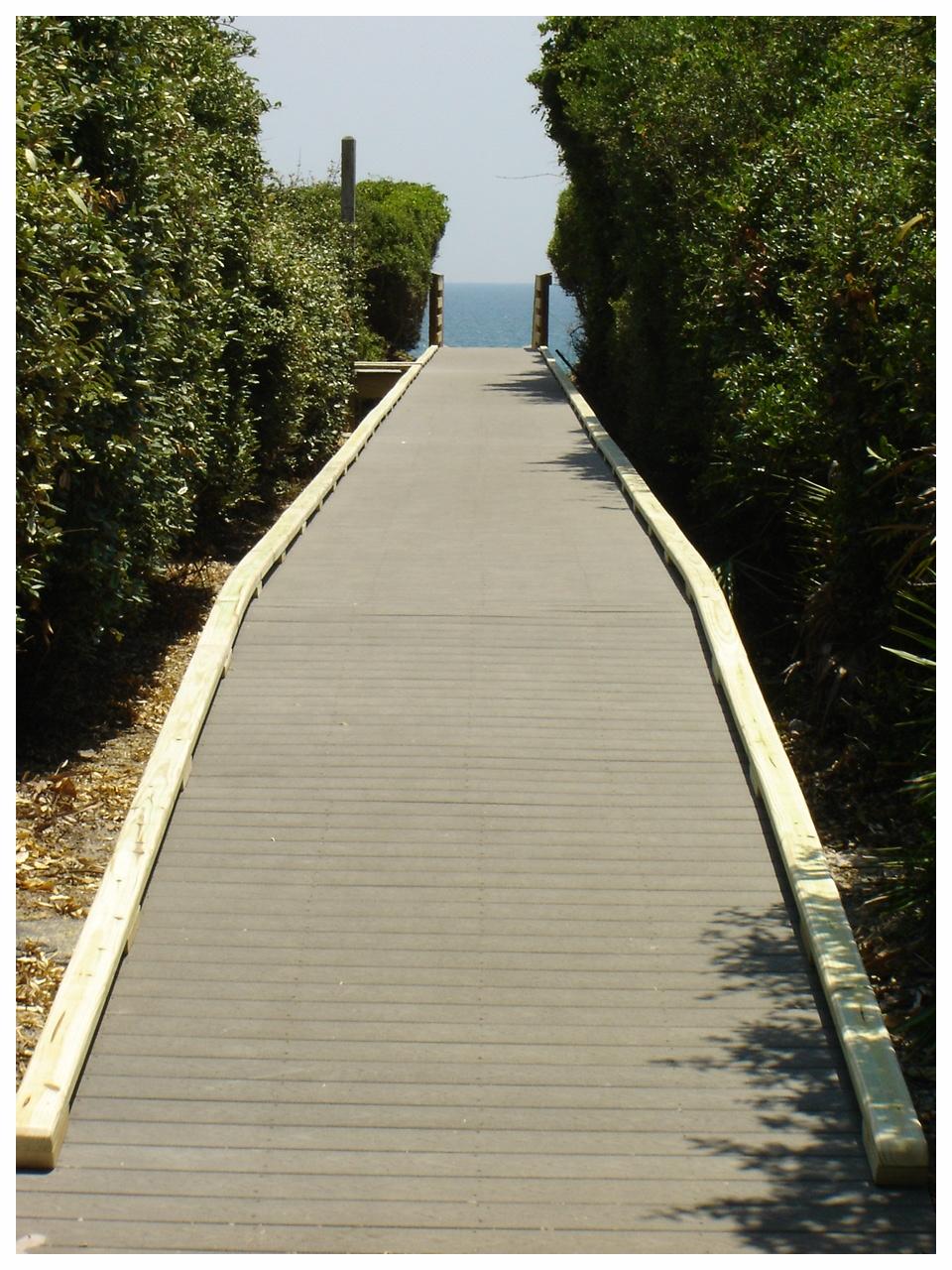 Beach Access Construction
