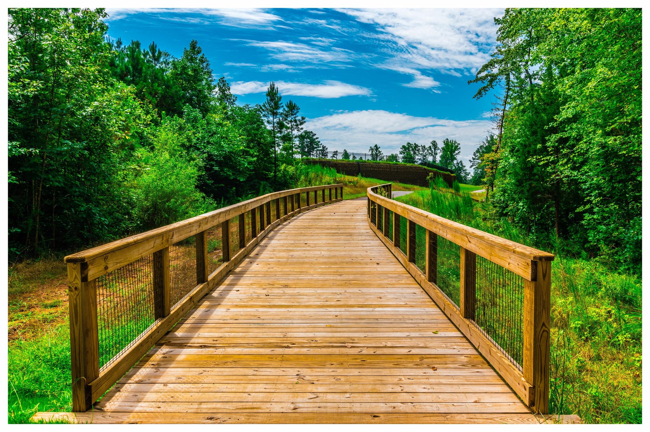 Wooden Footbridge Builder