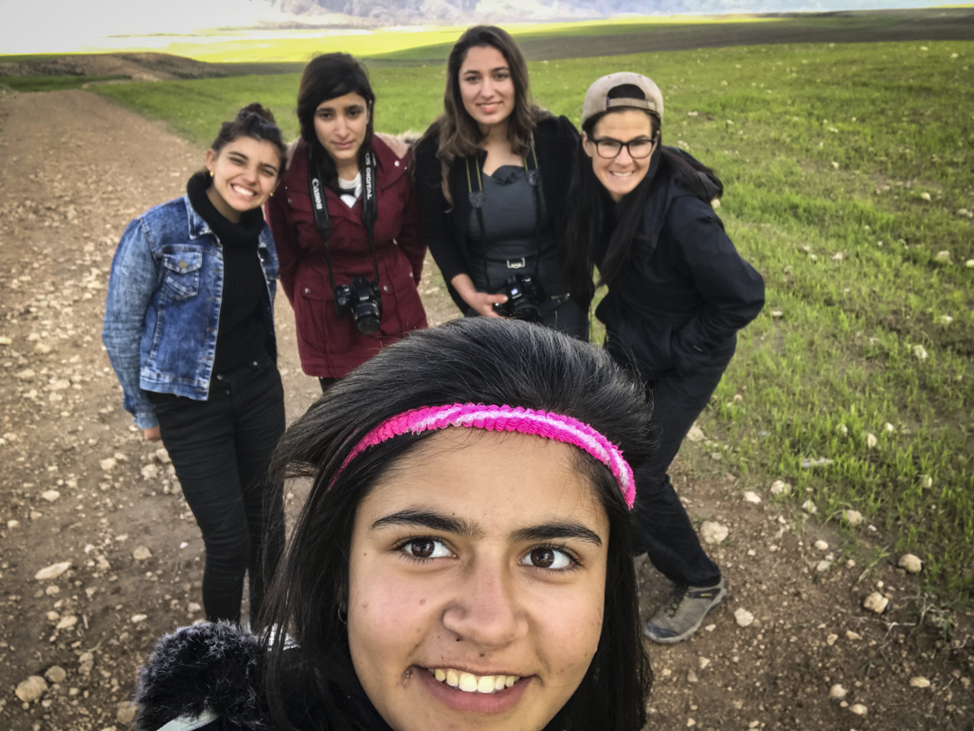 The most rewarding aspect of my time in Kurdistan was teaching a photo workshop to a group of young women. Over the course of several days we covered photo basics and focused on the importance and validity of their own, unique way of seeing the world. It is one thing for me to take pictures of a community; it's another to empower those in the community to participate in constructing their own narrative. Due to a gracious donation I was able to travel with a printer and we held a modest exhibition of their work. It may be difficult for many to imagine holding a photo print for the first time but for these young women it was magic--to see their eyes light up and shine with renewed confidence was priceless.