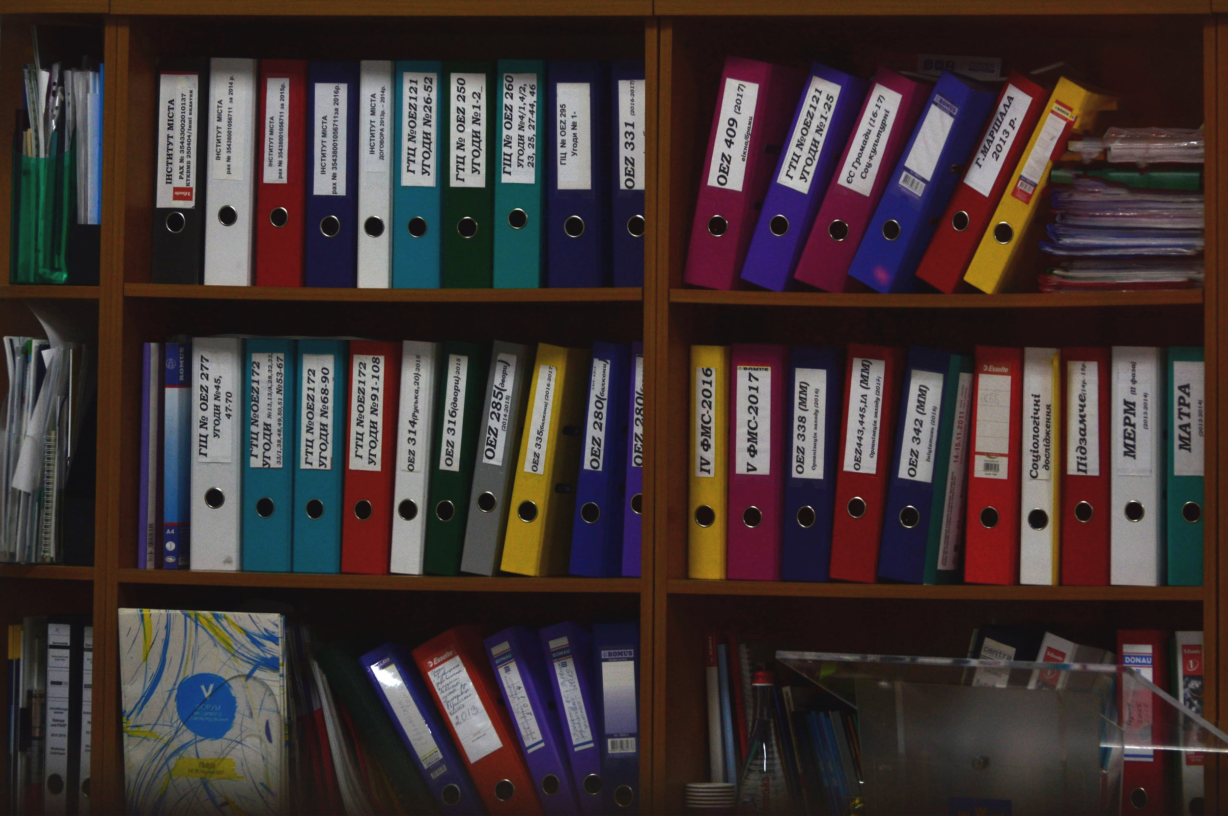 Organise your paperwork -