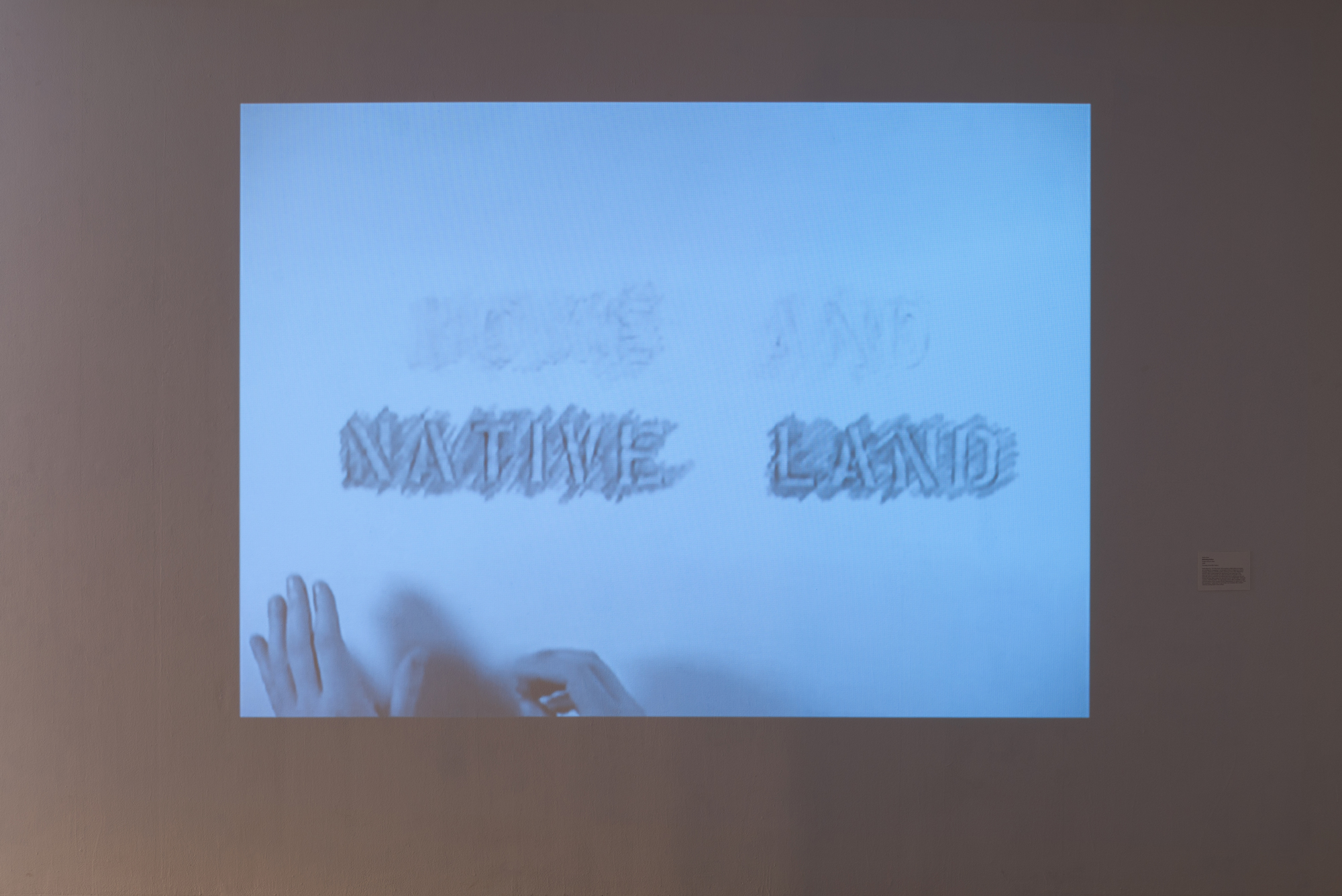 Nadia Myre,  Rethinking Anthem,  single channel video, 2008 (Courtesy of Art Mûr Gallery)