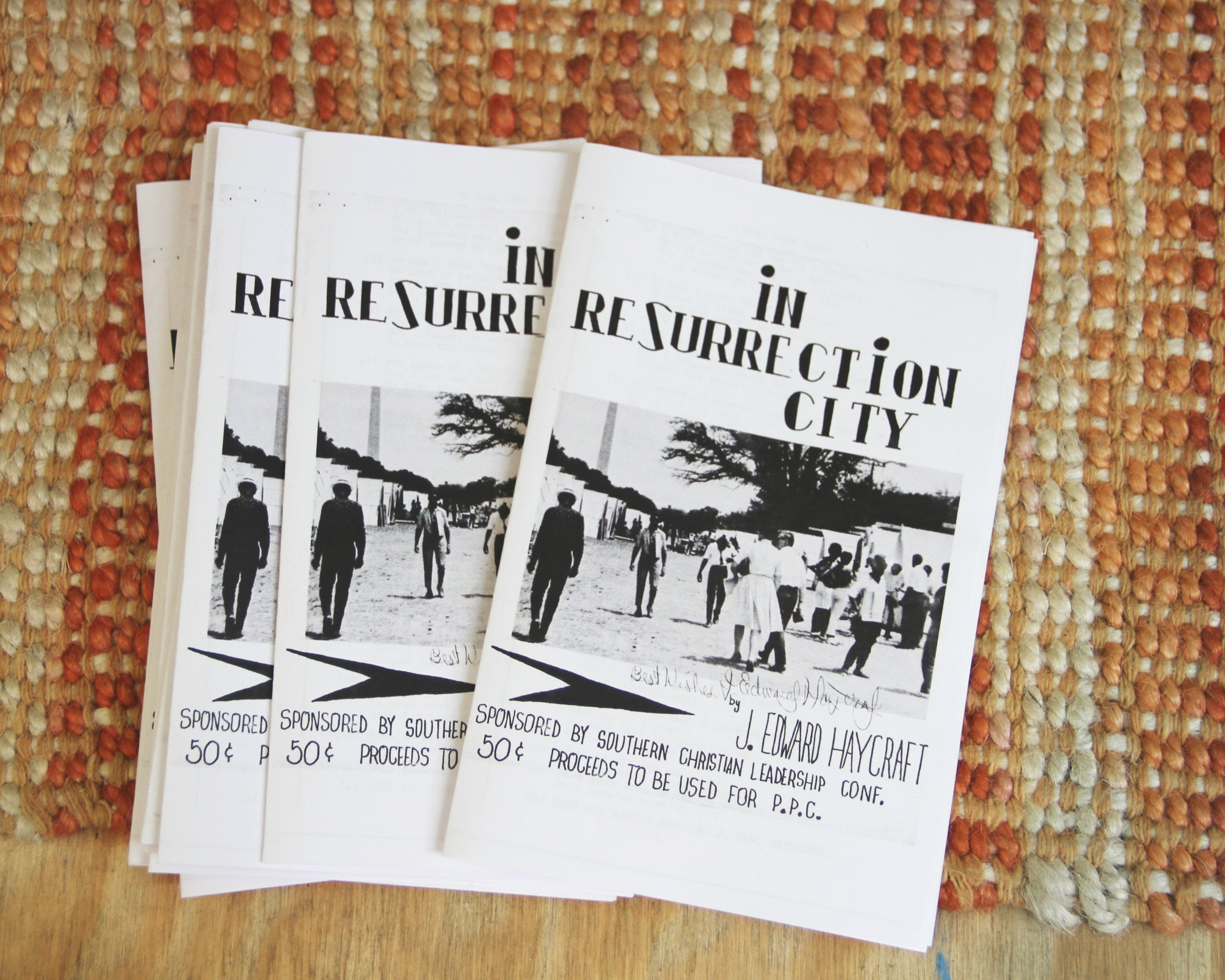 Reproductions of the Resurrection City Songbook