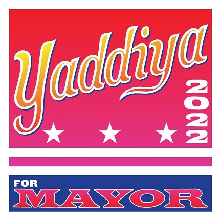 Bumper sticker design for Yaddiya for DC Mayor... is he really running? Stay tuned.  #yaddiyaformayor  #longlivegogo  #moechella  #nomunomu  @yaddiya  @currentmovements  @_nomu.nomu_