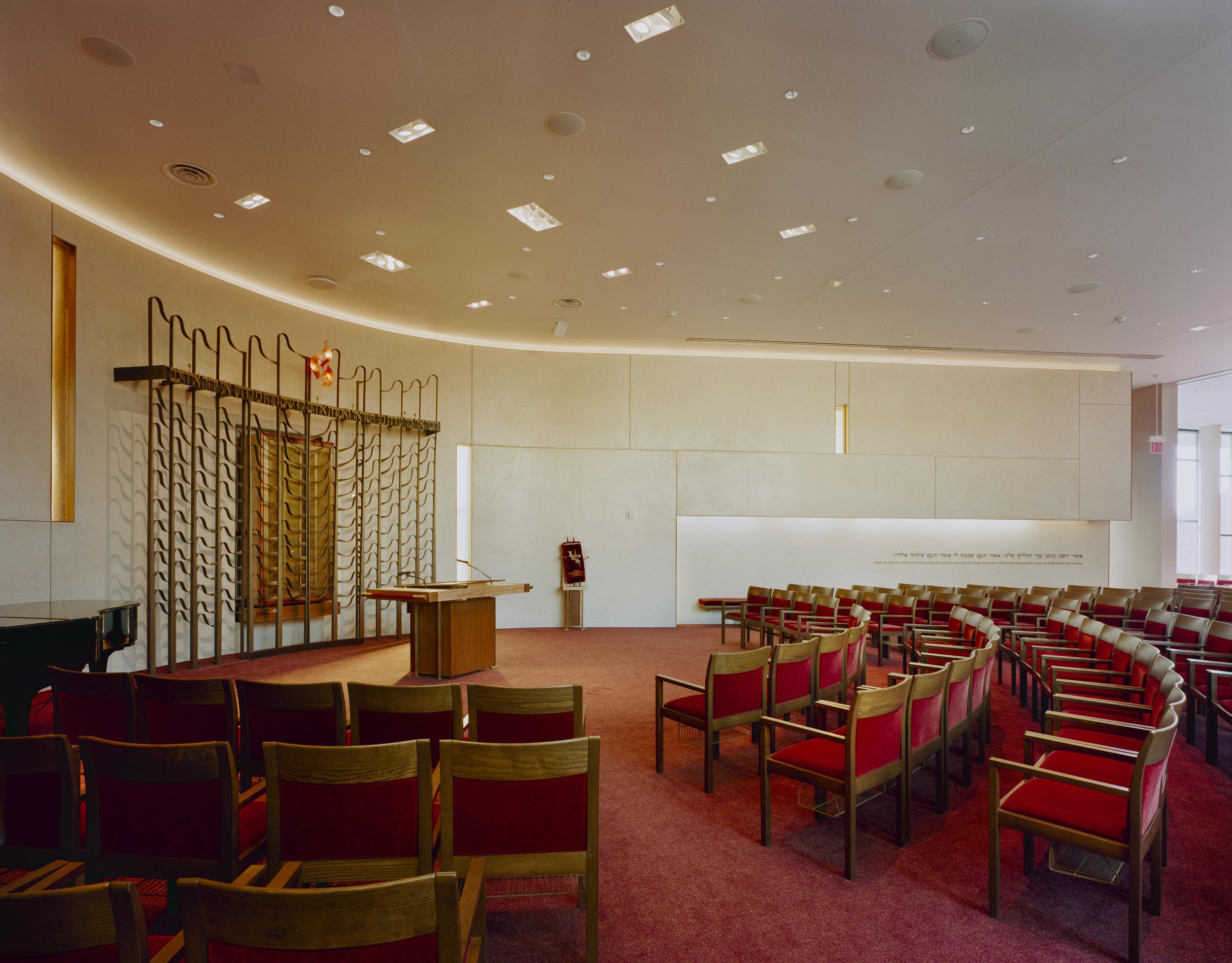Congregation Rodeph Sholom Rooftop Chapel, PKSB Photo credit: Paul Warchol