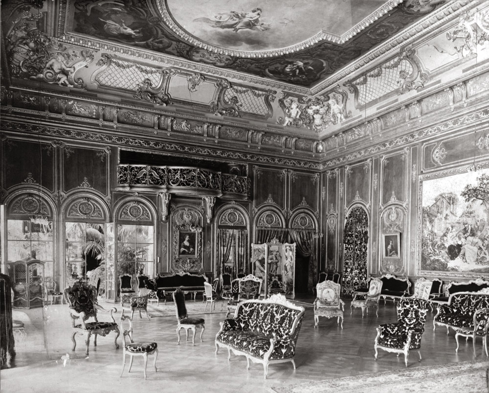 William C. Whitney residence, 5th Avenue at 68th Street. Interior view of the ball room, Stanford White, Architect