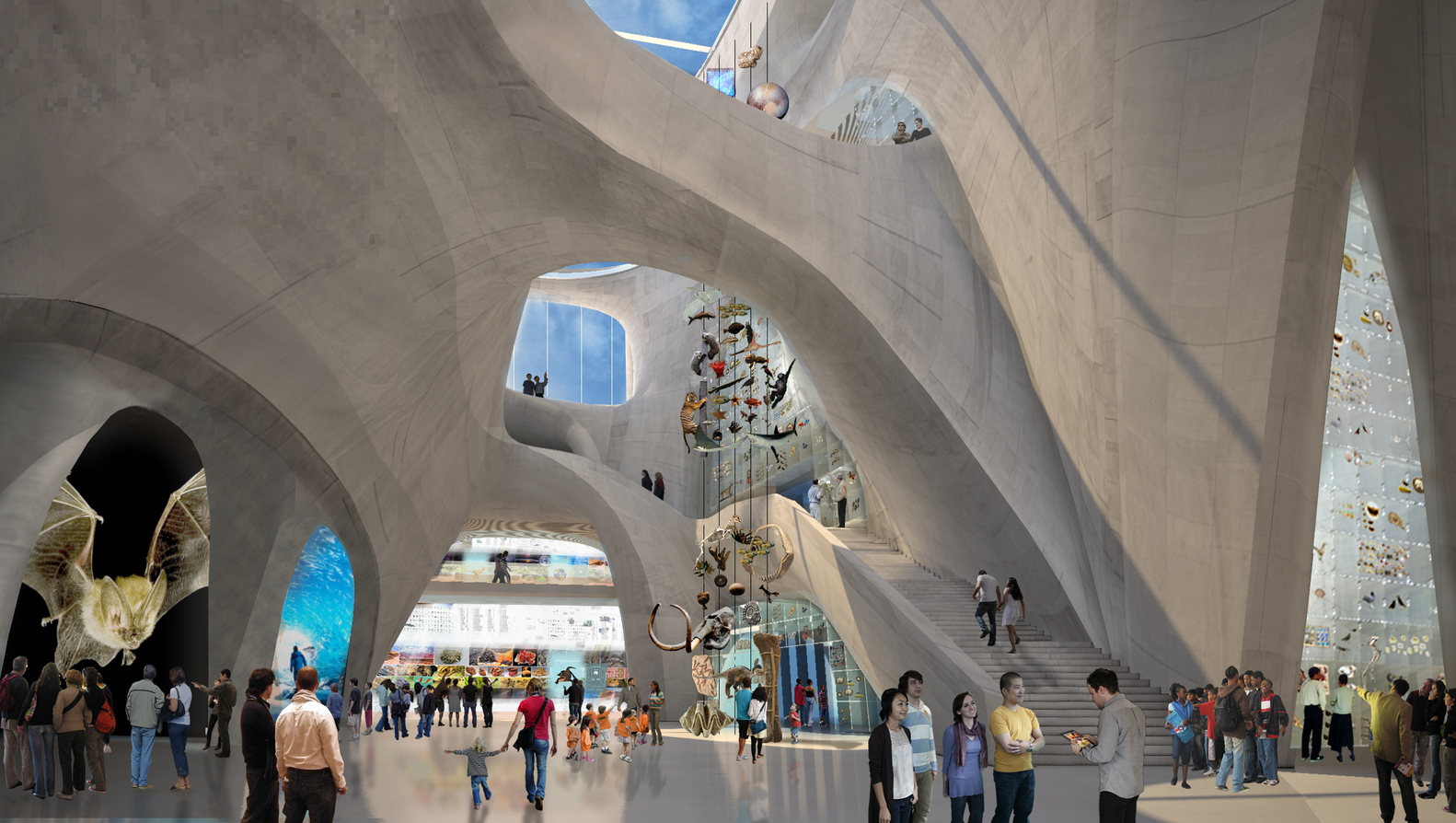 4._Proposed_Interior_-_Gilder_Center_Central_Exhibition_Hall_-_View_East_From_Entrance_Into_Building.jpg