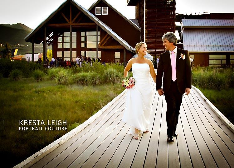 summer wedding in utah