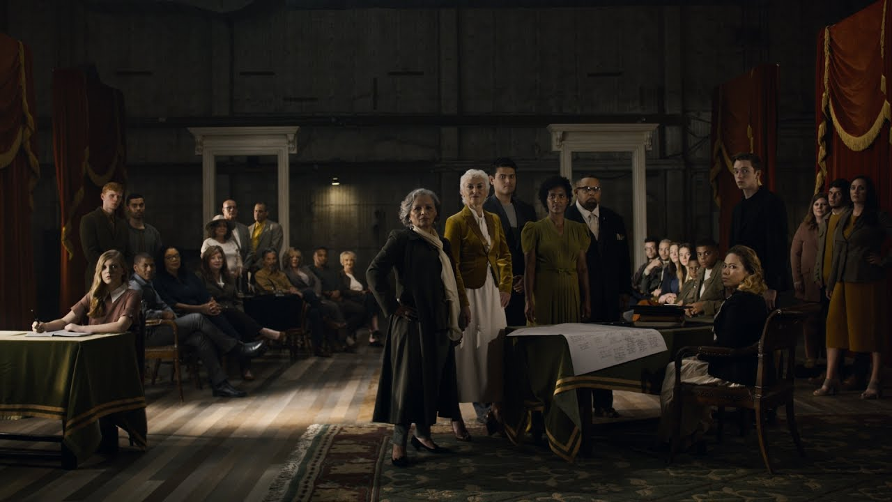 In 1776, America's founders signed the Declaration of Independence, a statement of equality and unity. But today, America is perhaps as divided as it's ever been.  For July 4th, we used Ancestry to find the descendants of the Declaration's signers. Though a group of 56 white men, their descendents were of strikingly diverse ethnicities, including African American, Hispanic, Native American, and Asian.  We brought them together to recreate John Trumbull's painting, Declaration of Independence, illustrating that diversity is an inextricable part of who we are as Americans.  Click the image above to see the work.