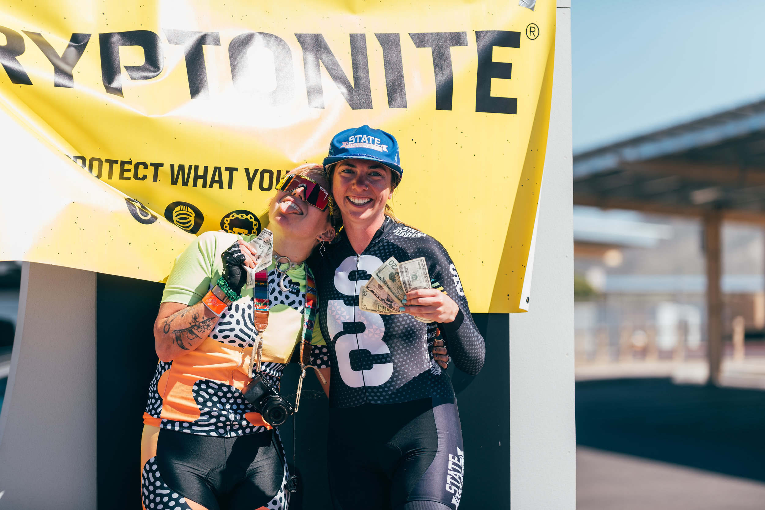 Smaish from Team Nonstop in Arizona recaps her longest alleycat ever.