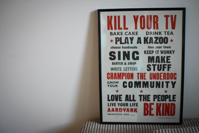 Aardvark Manifesto || thinkbiglivesimply.com